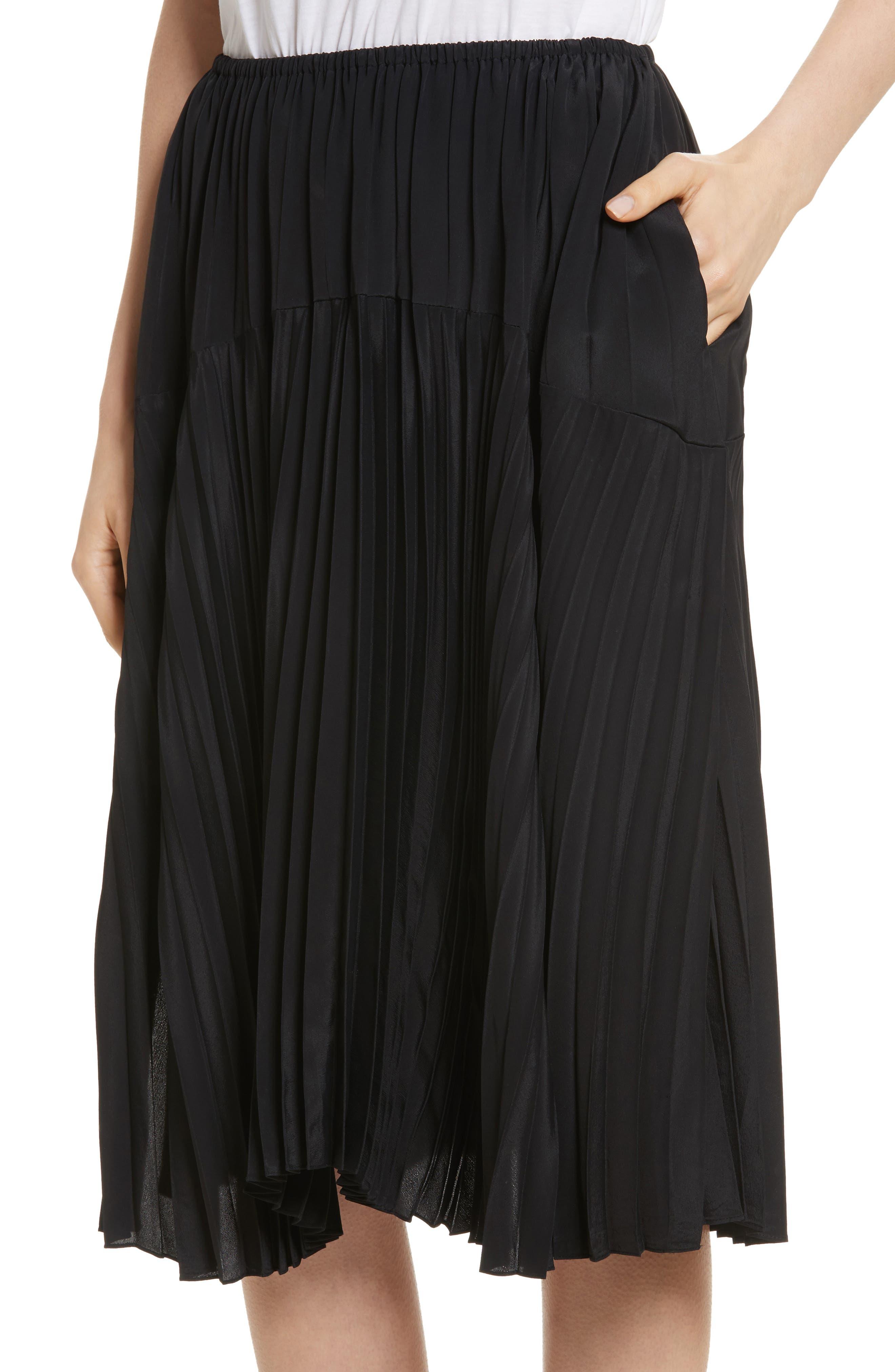 Pleated Skirt,                             Alternate thumbnail 7, color,