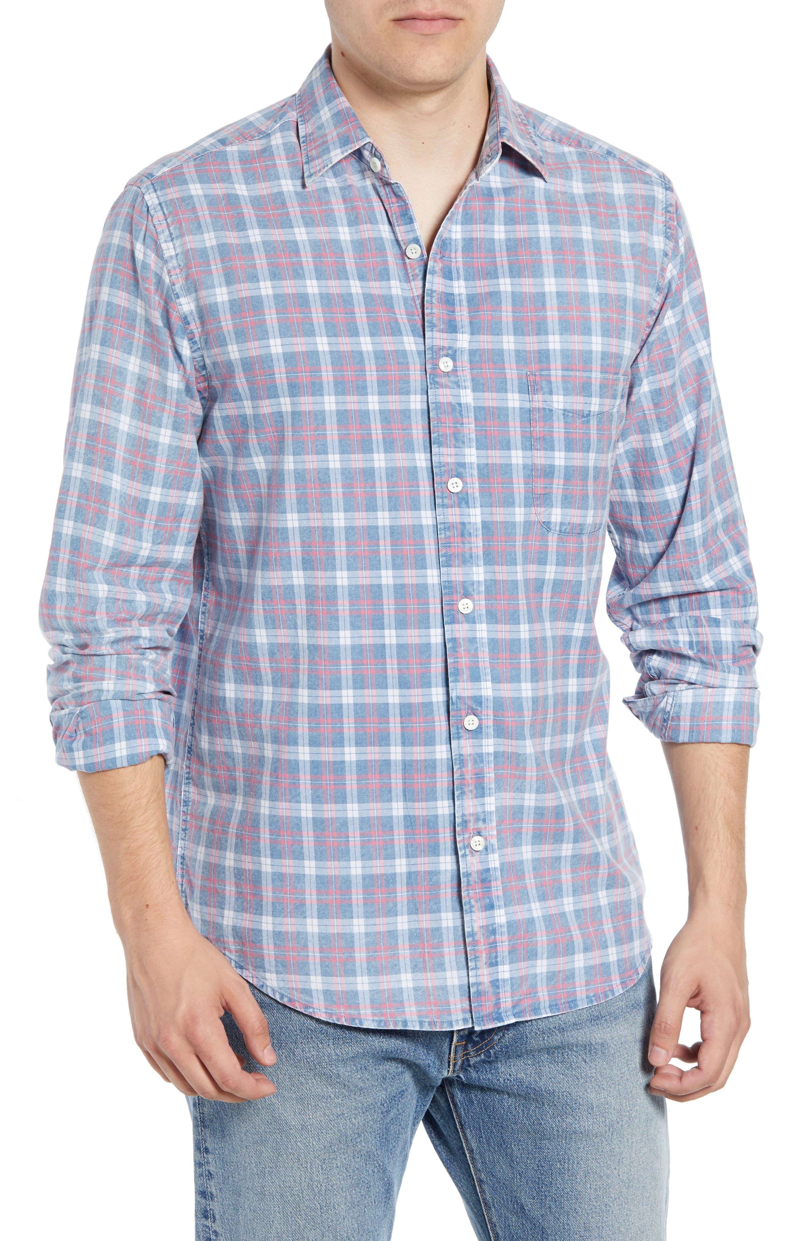Ventura Check Sport Shirt,                         Main,                         color, 421