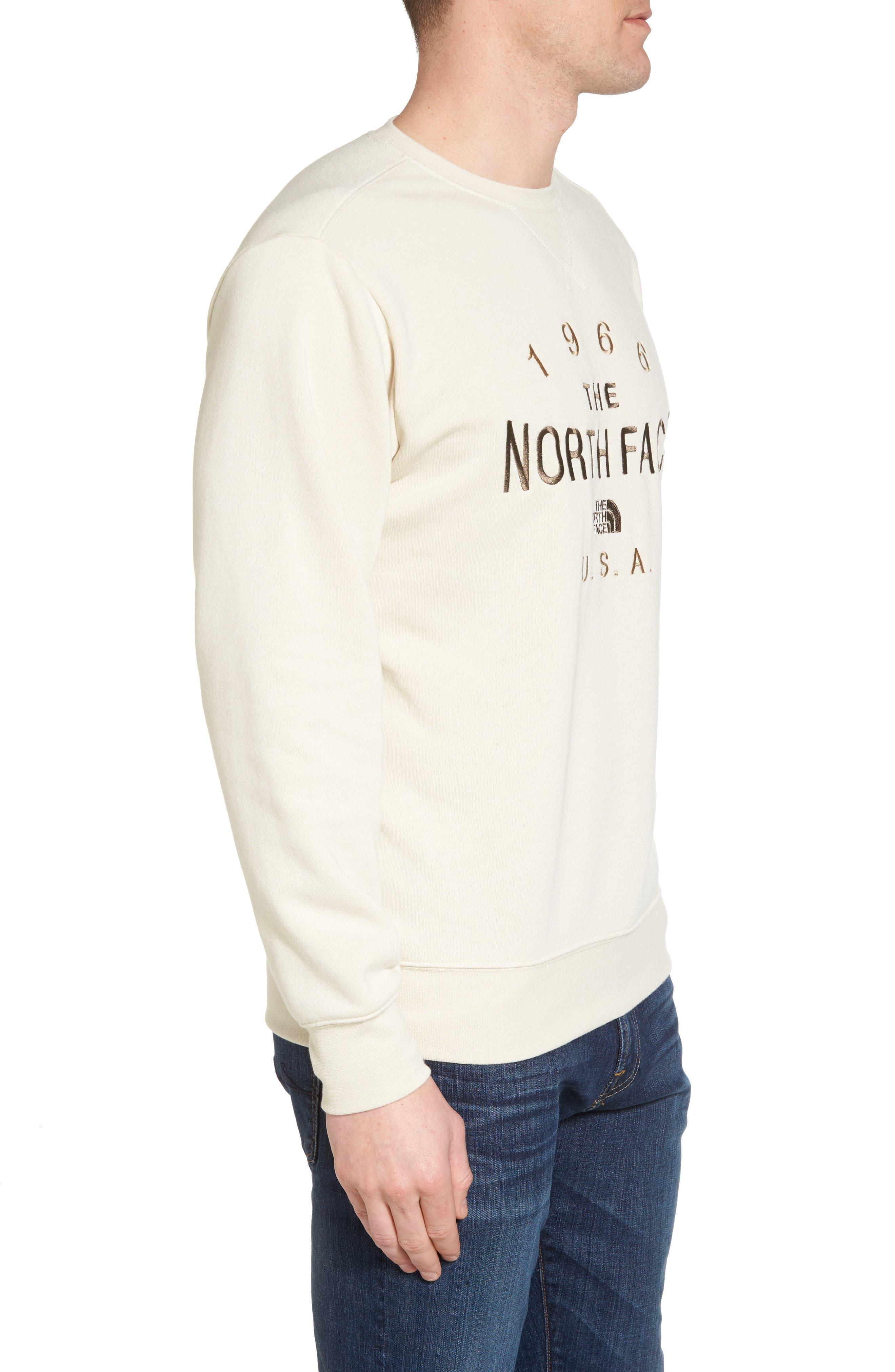 66 Classic Crew Sweatshirt,                             Alternate thumbnail 3, color,                             100