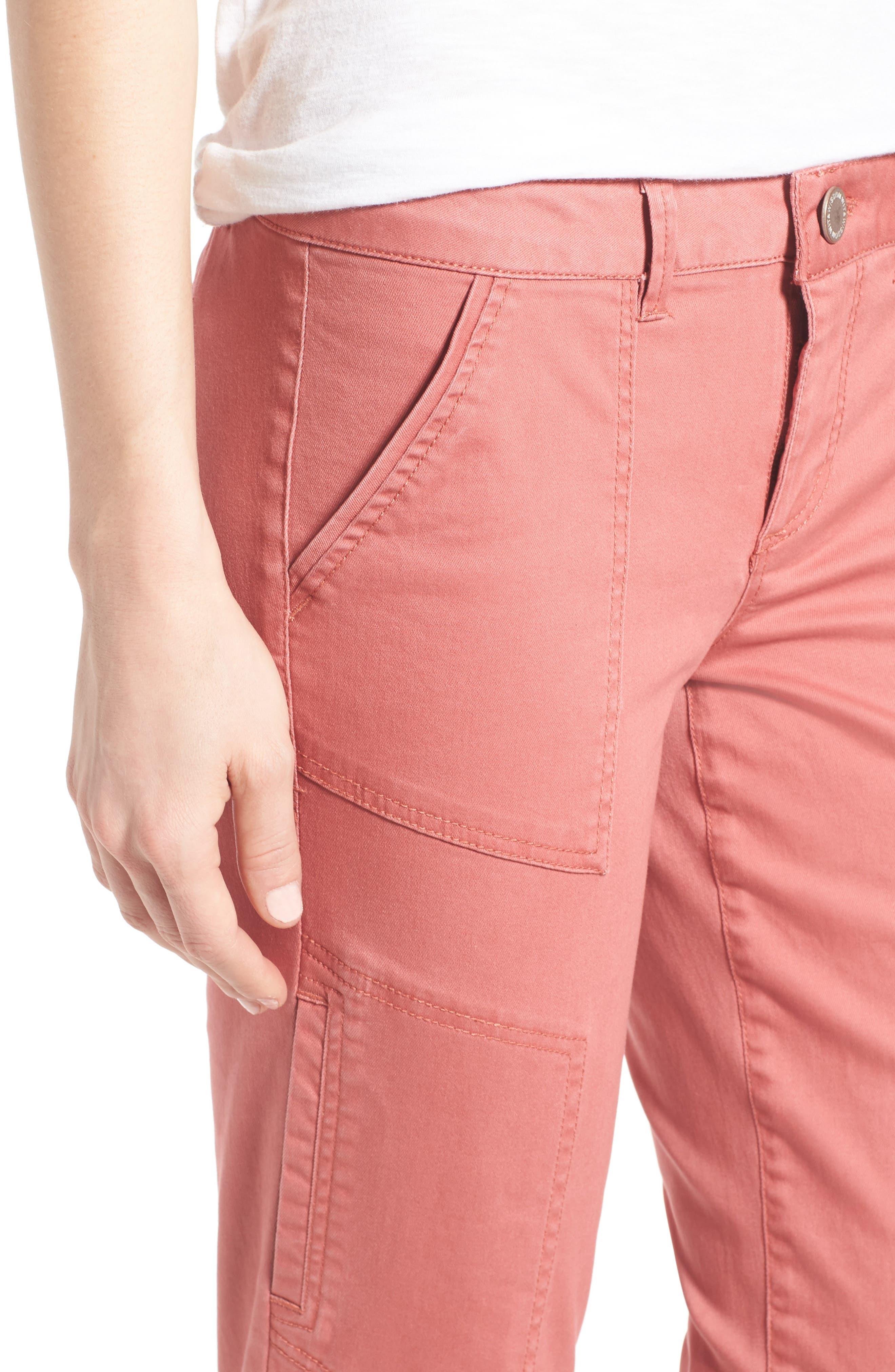 Skinny Cargo Pants,                             Alternate thumbnail 56, color,