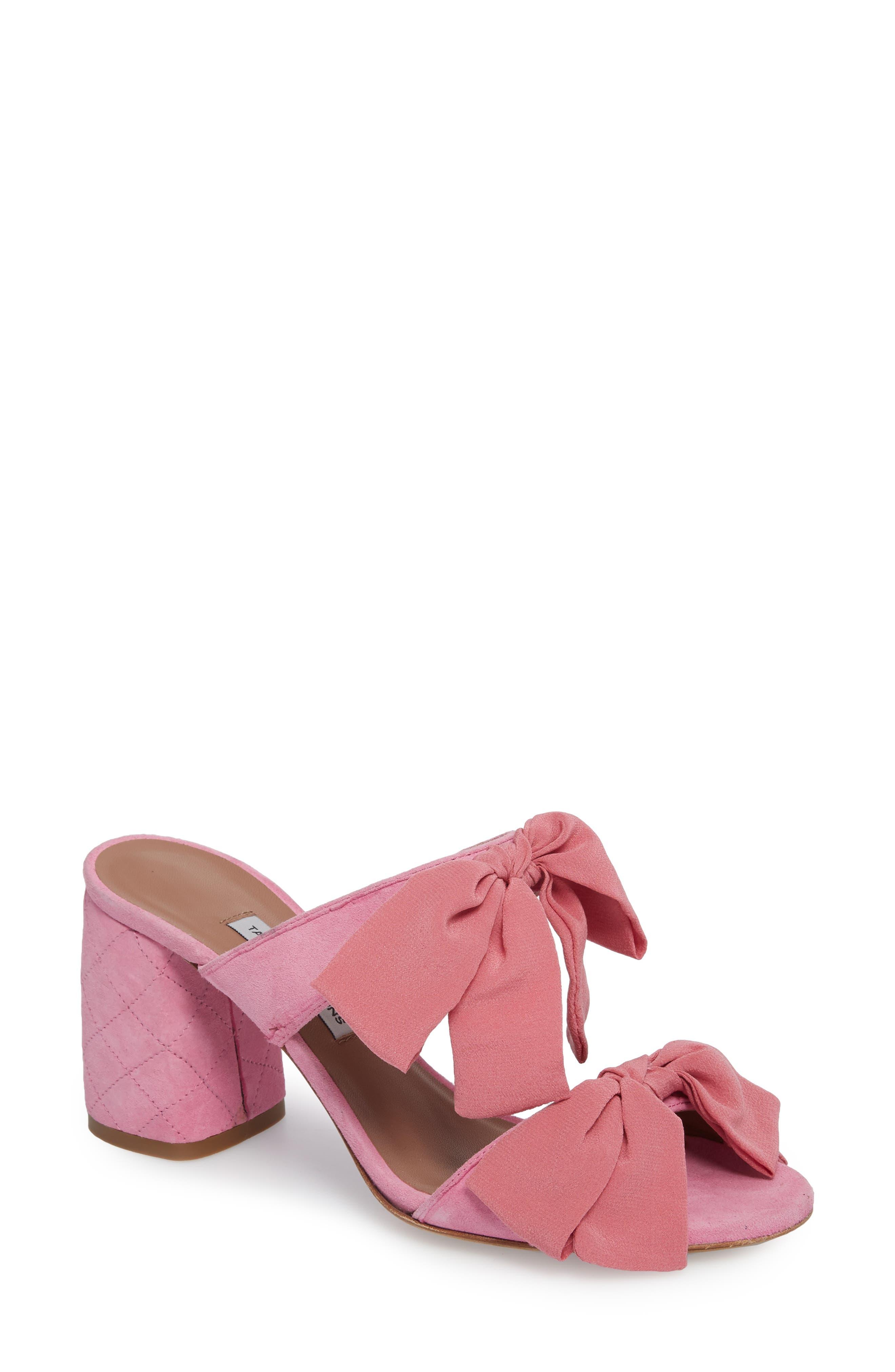 Barbi Bow Sandal,                             Main thumbnail 2, color,