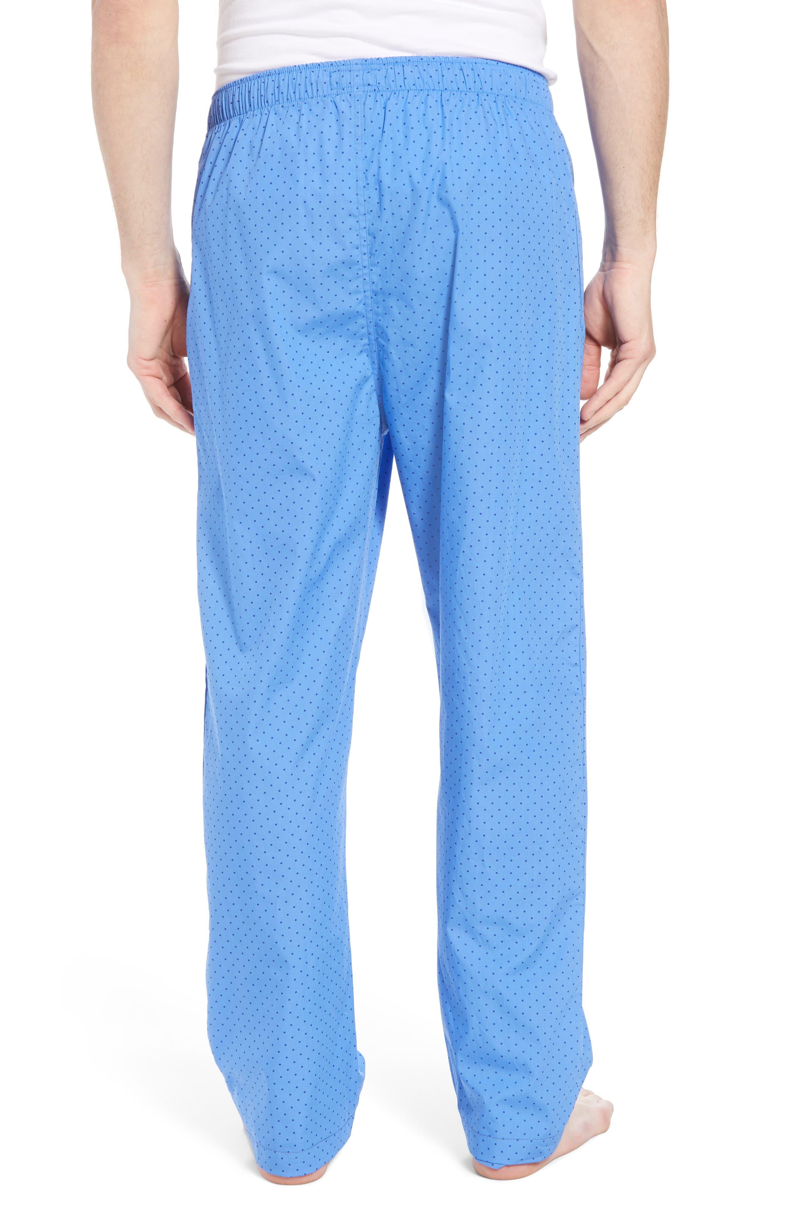 Dot Cotton Pajama Pants,                             Alternate thumbnail 2, color,                             451