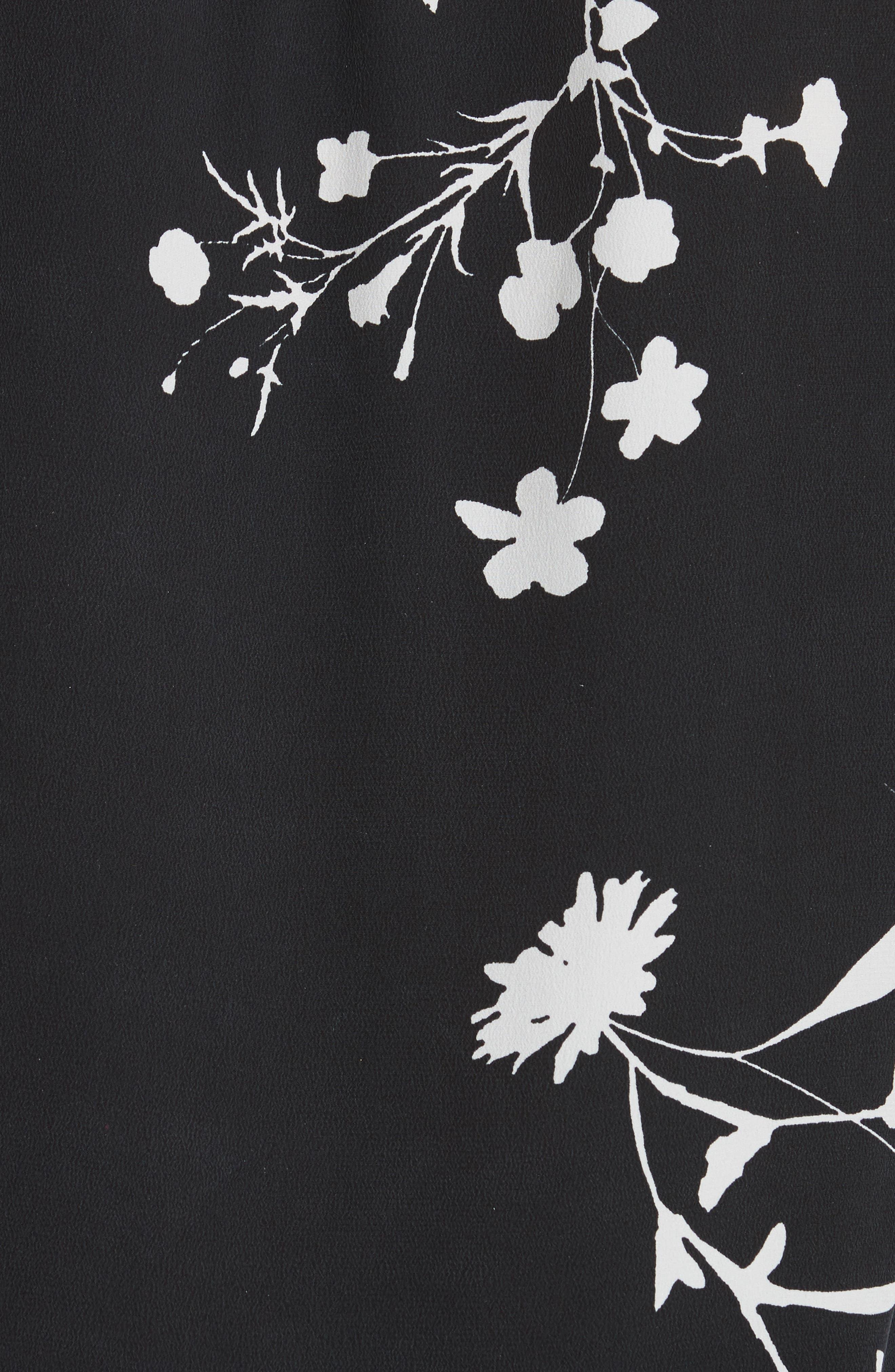 Eilga Floral Silk Blouse,                             Alternate thumbnail 5, color,