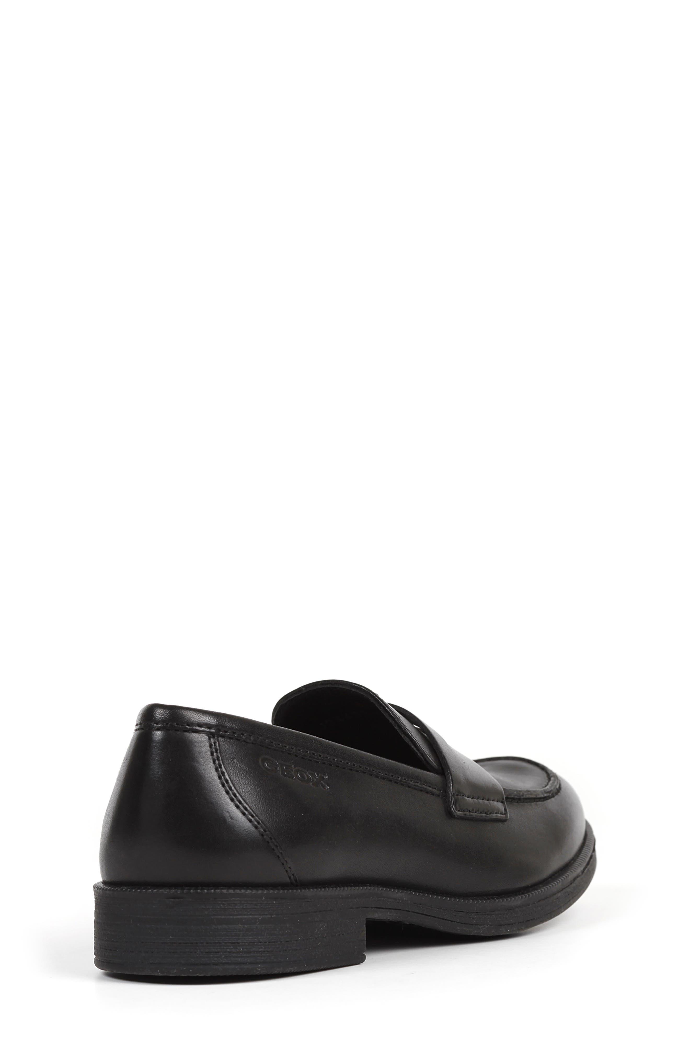 Agata 1 Penny Loafer,                             Alternate thumbnail 5, color,                             BLACK