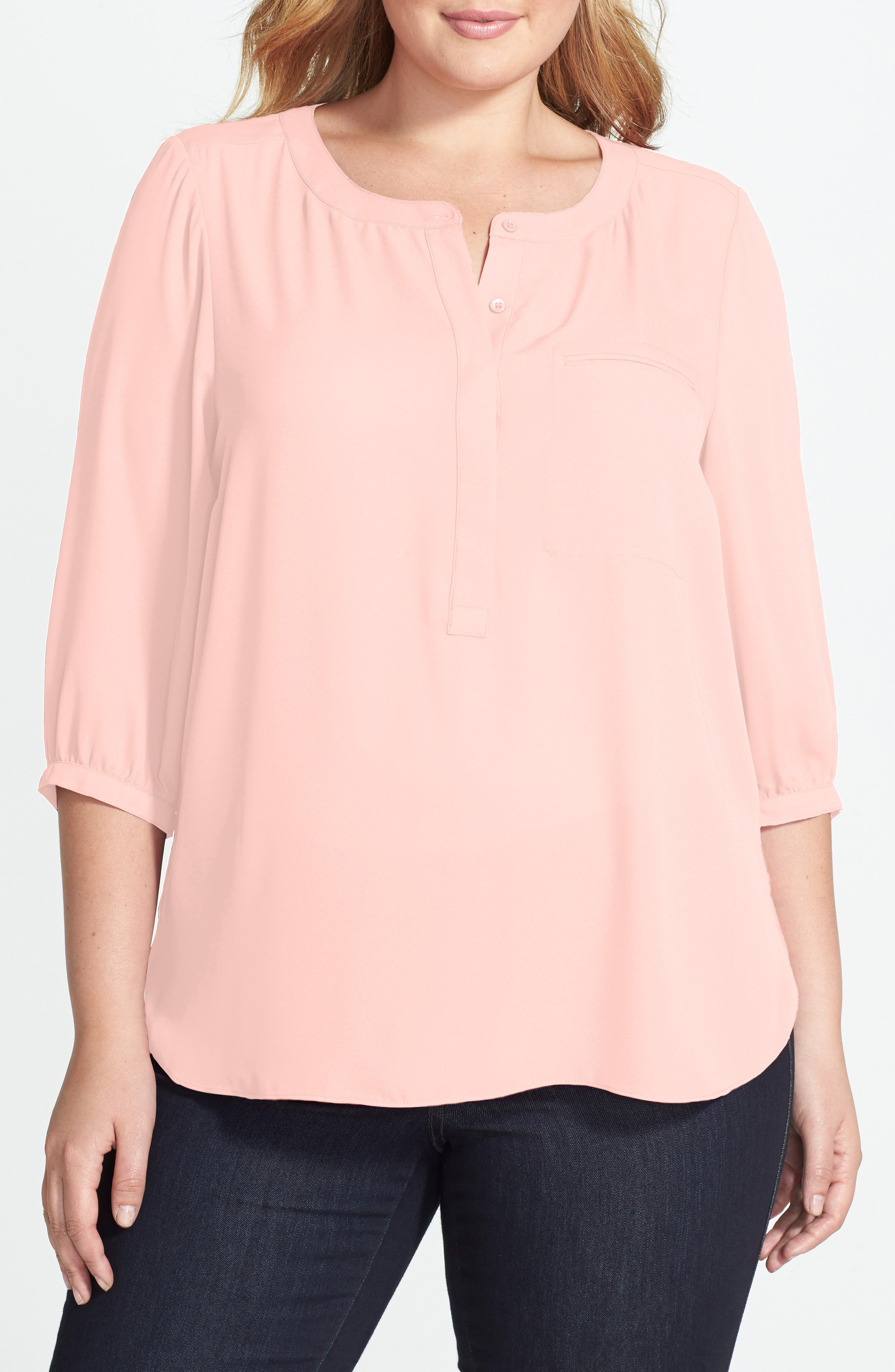Henley Top,                             Alternate thumbnail 268, color,