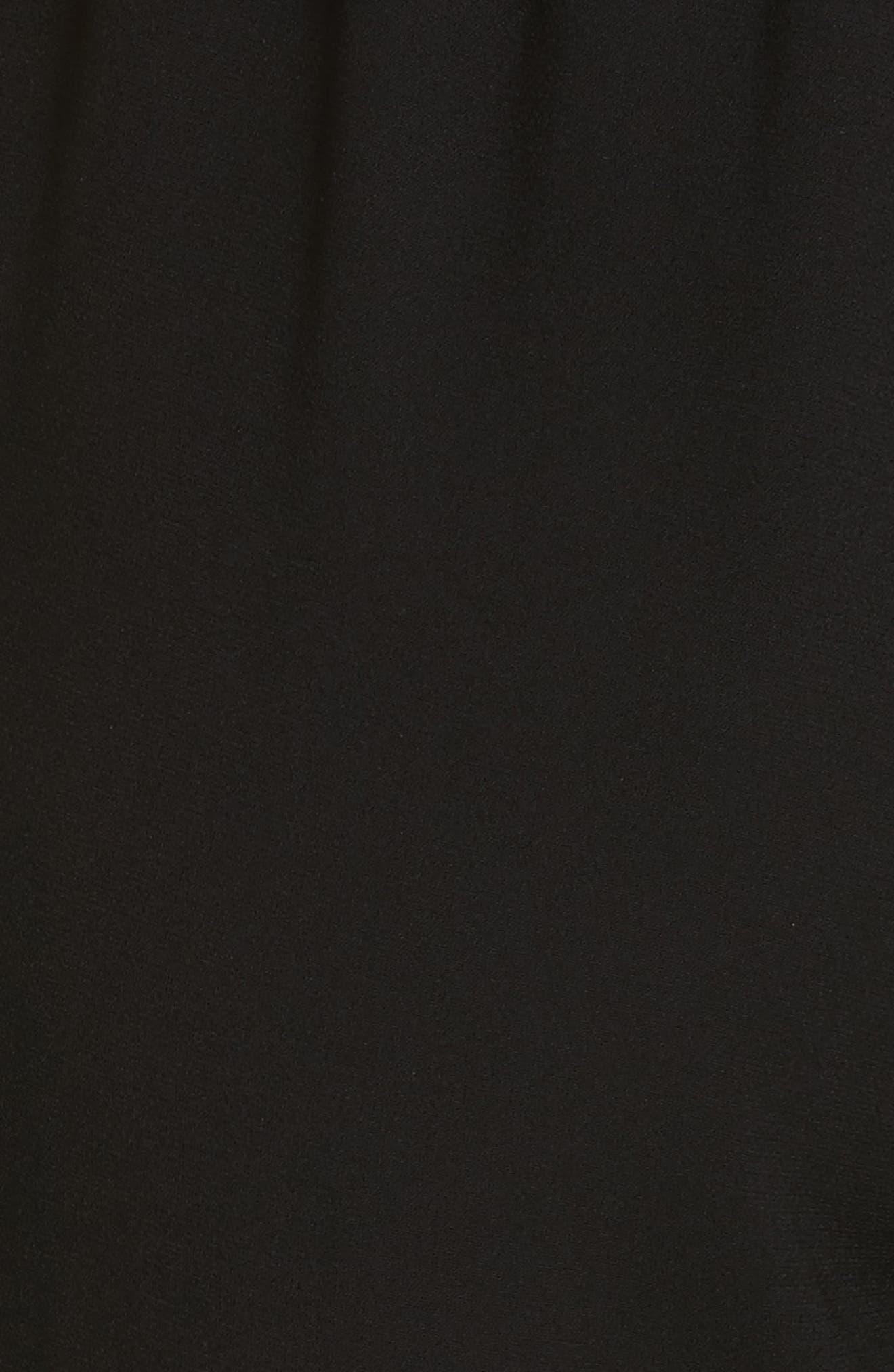 Floral Stripe Track Pants,                             Alternate thumbnail 5, color,                             001