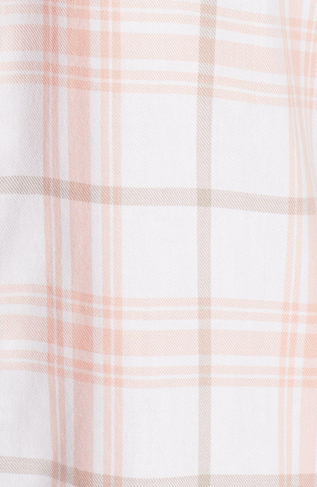 Plaid Night Shirt,                             Alternate thumbnail 18, color,