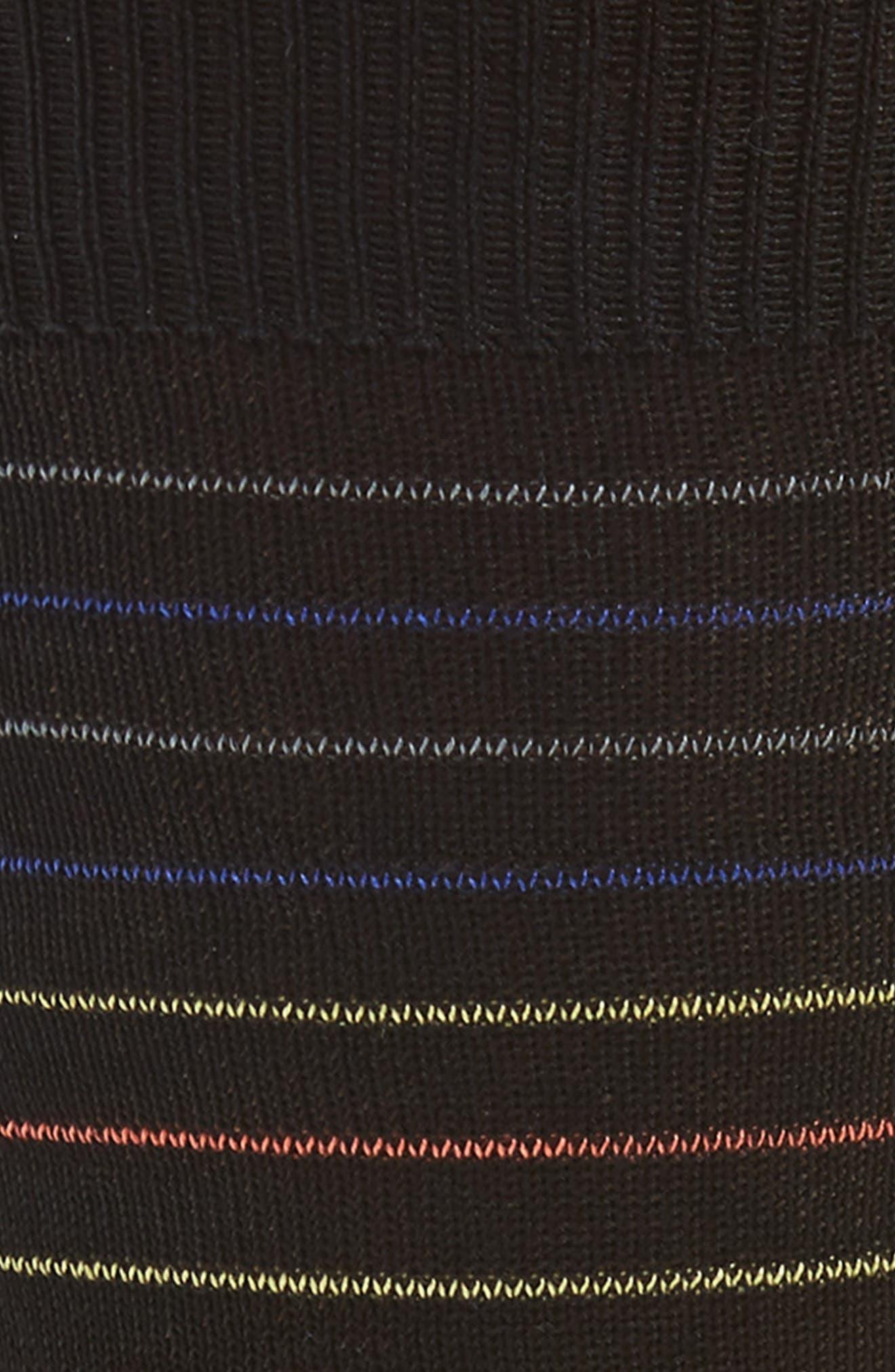 Piggle Stripe Socks,                             Alternate thumbnail 2, color,                             415