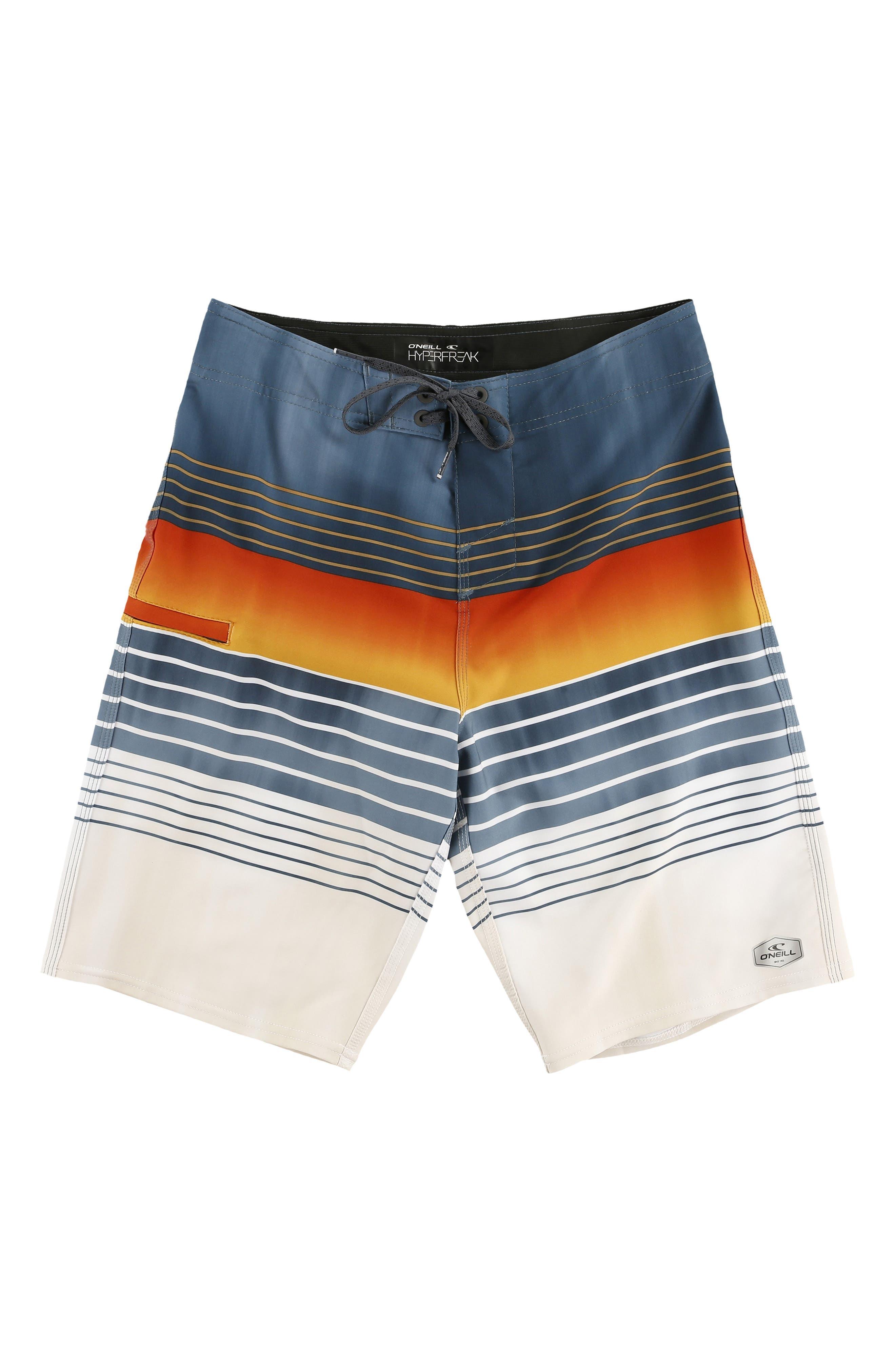 Hyperfreak Heist Board Shorts,                             Main thumbnail 1, color,                             DUST BLUE