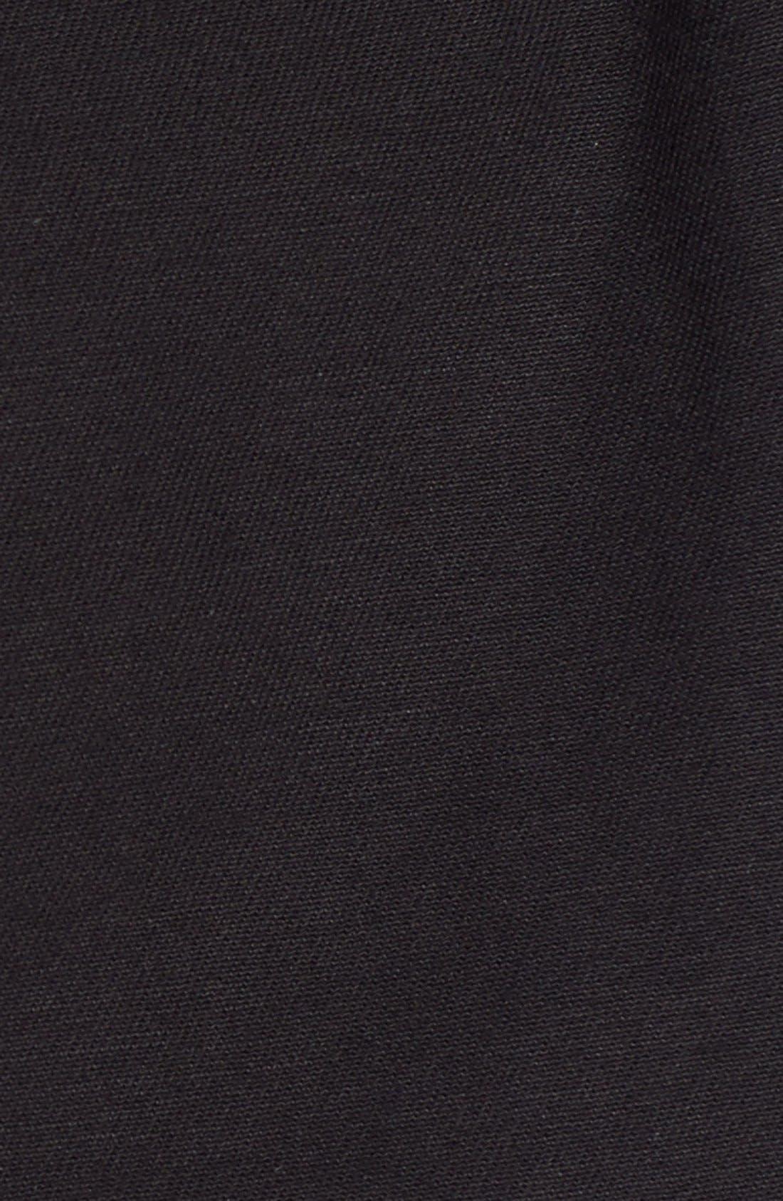 Cotton Twill Utility Jacket,                             Alternate thumbnail 3, color,                             001