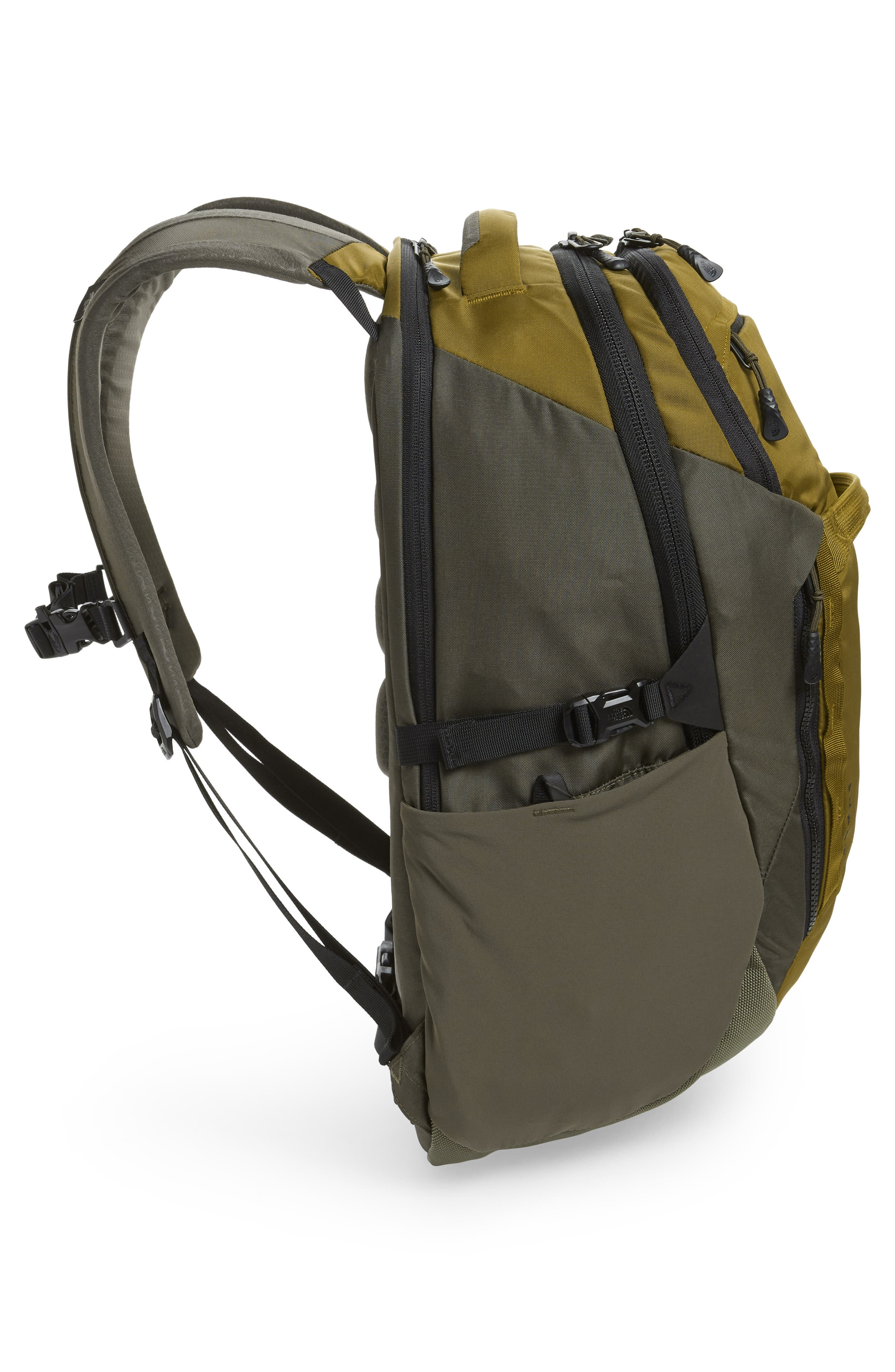 Surge Backpack,                             Alternate thumbnail 5, color,                             FIR GREEN/ NEW TAUPE GREEN