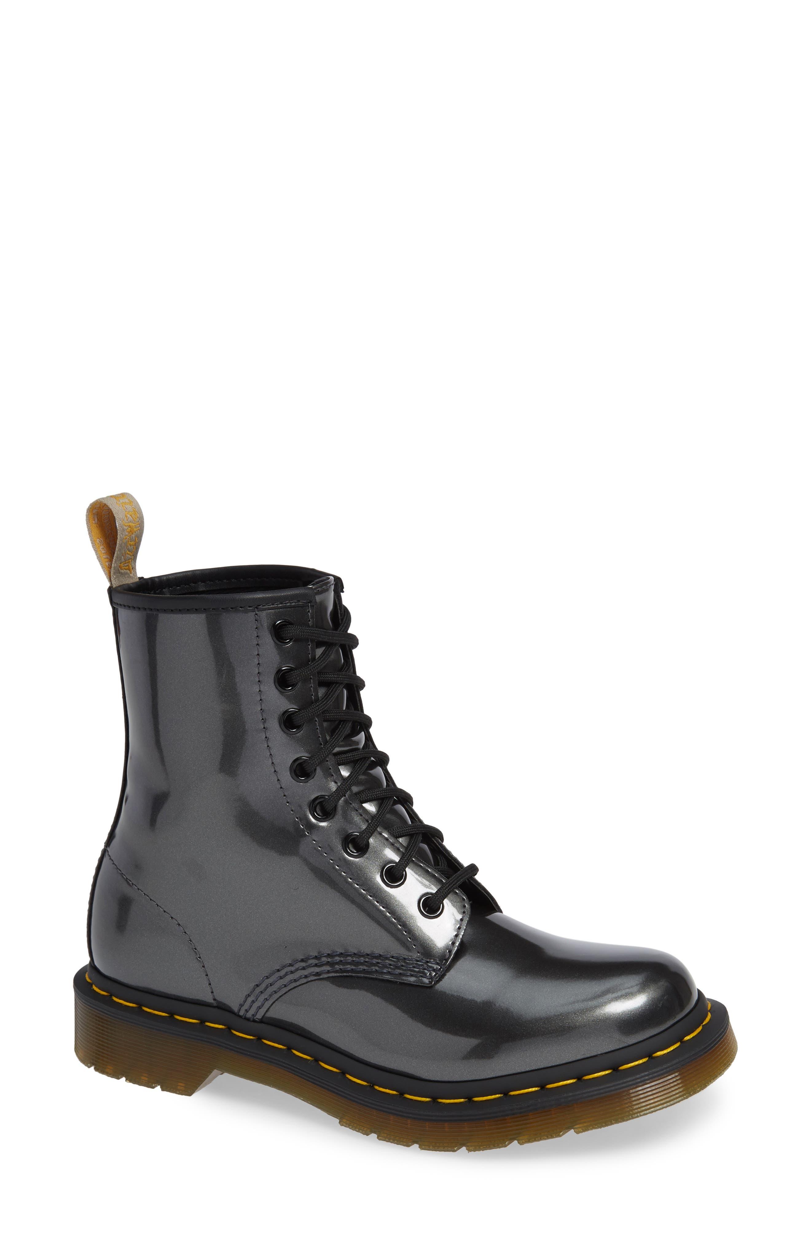 Dr. Martens 1460 Chrome Boot, Metallic