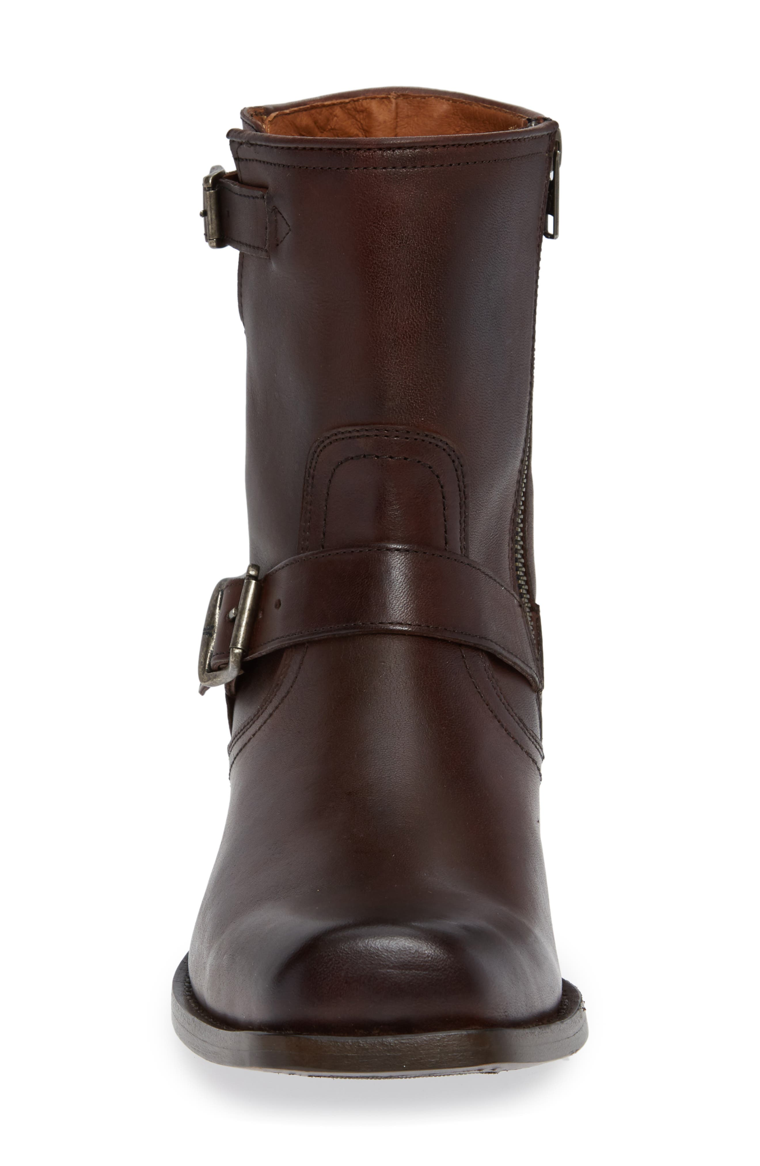 Smith Engineer Boot,                             Alternate thumbnail 4, color,                             BROWN