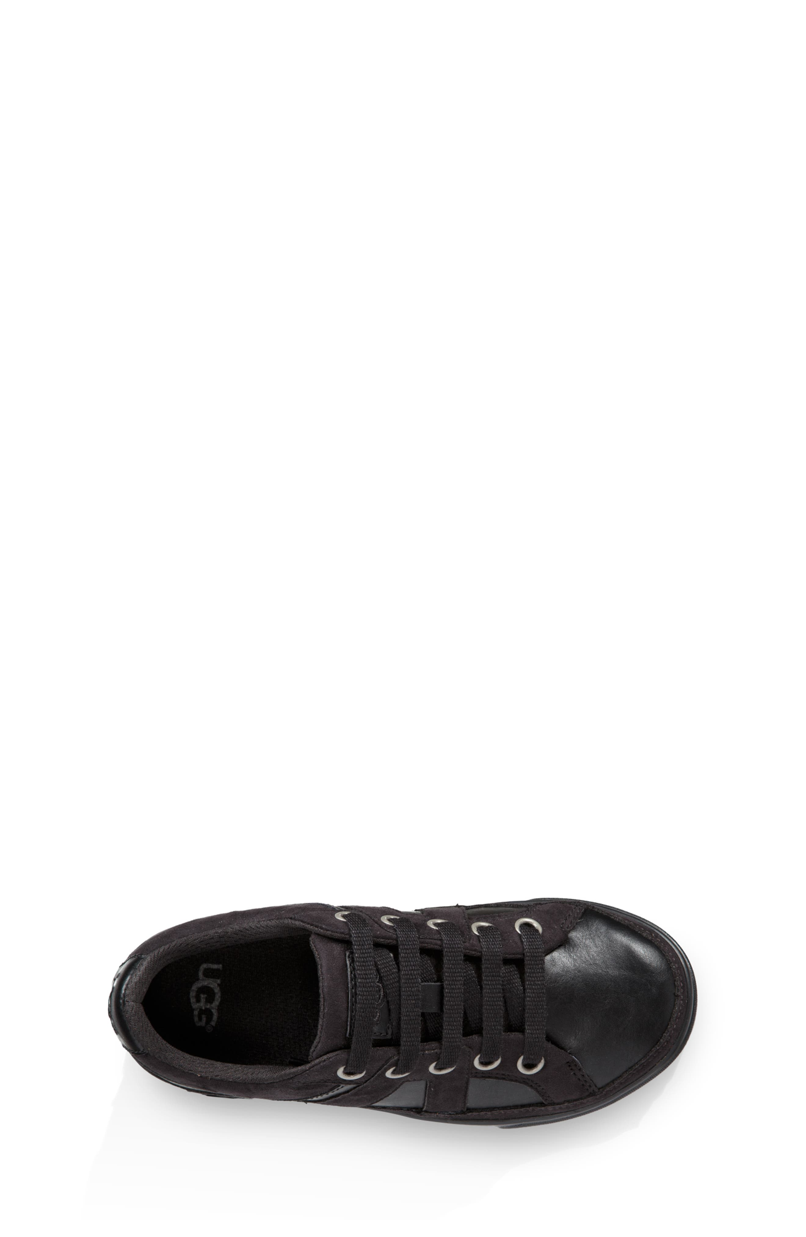 UGG<SUP>®</SUP>,                             Marcus Sneaker,                             Alternate thumbnail 4, color,                             BLACK