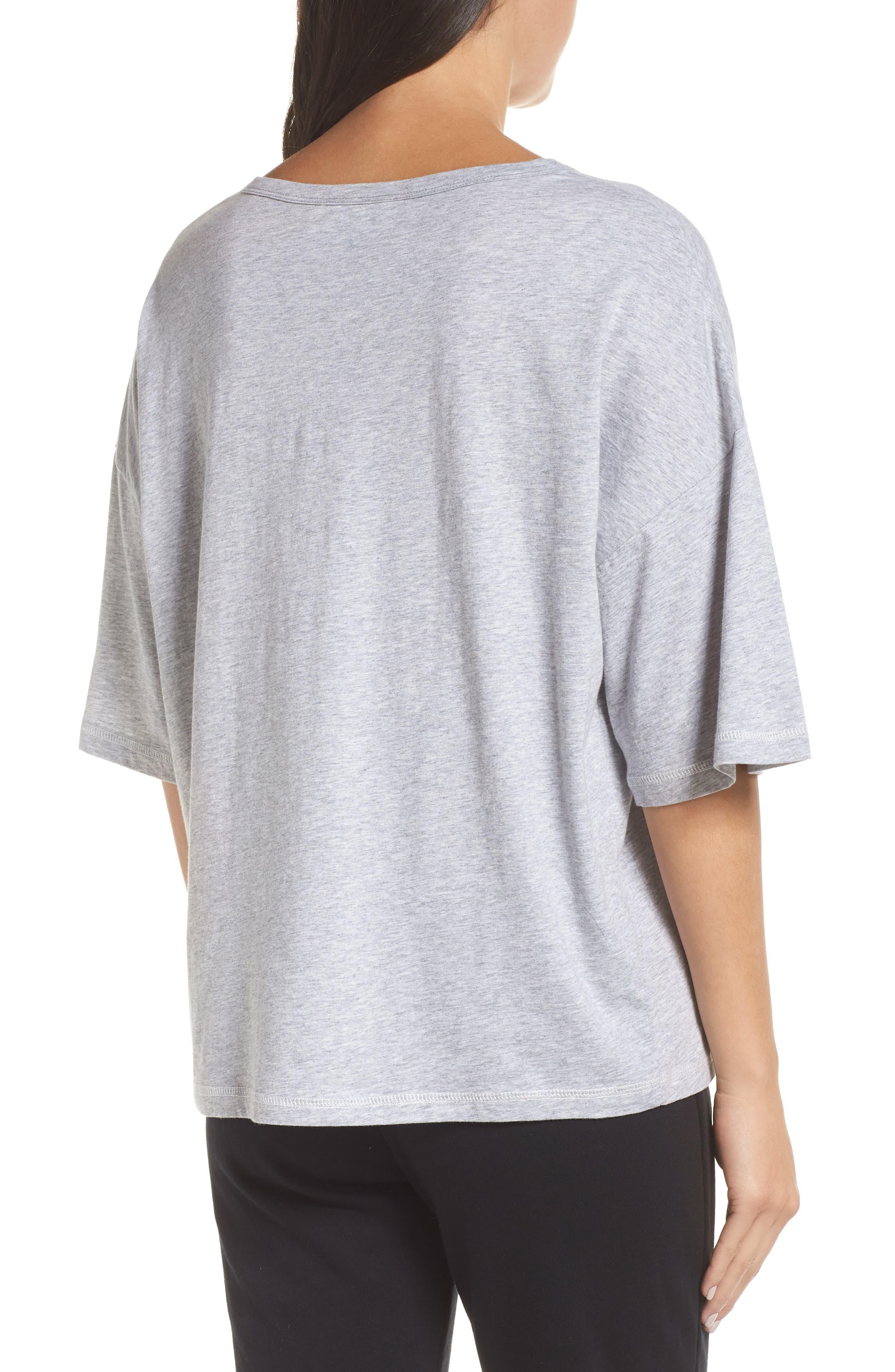 Soph Lounge Shirt,                             Alternate thumbnail 2, color,                             SMOKE MARLE