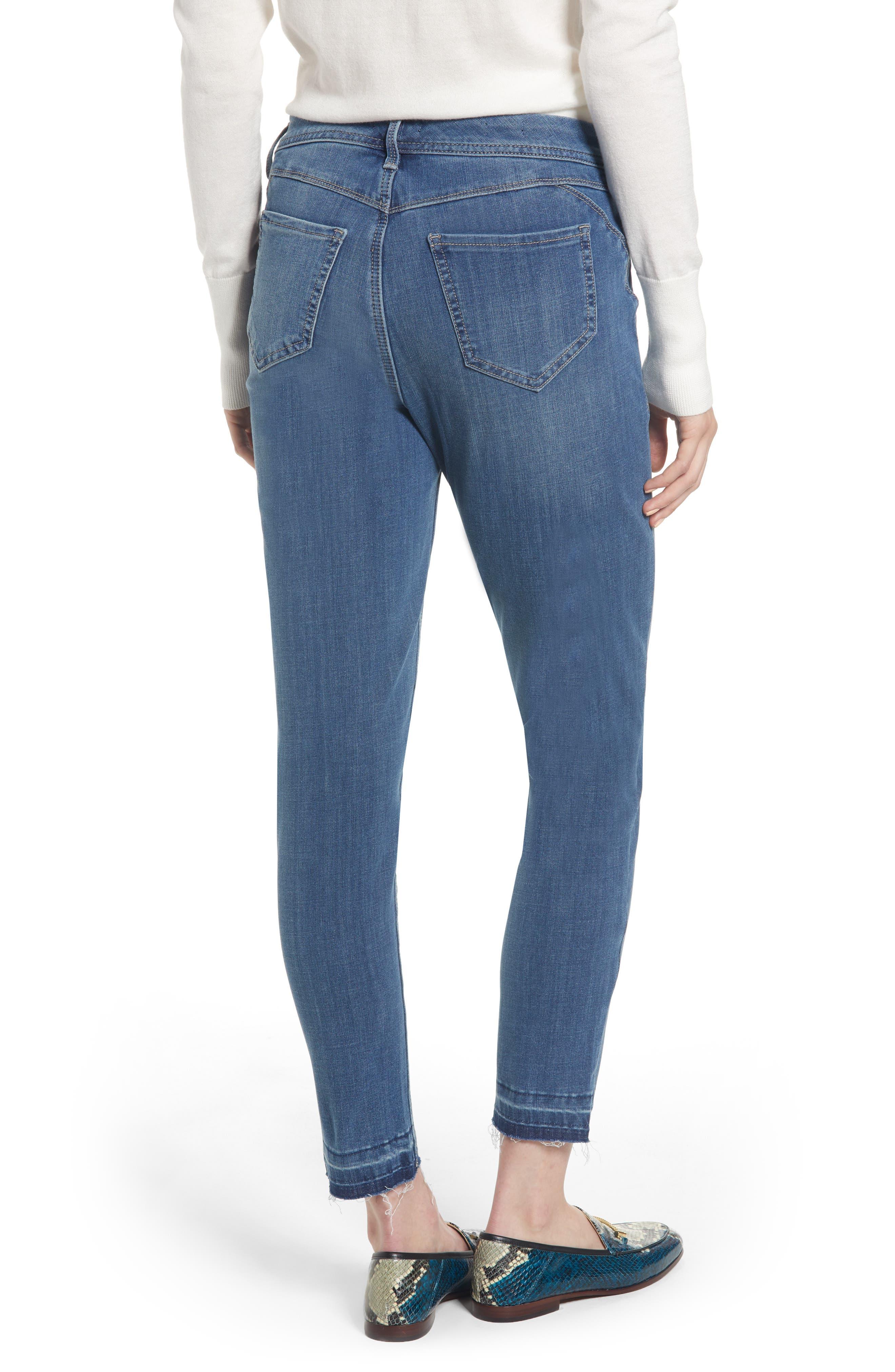 Release Hem Skinny Jeans,                             Alternate thumbnail 2, color,                             LEAR
