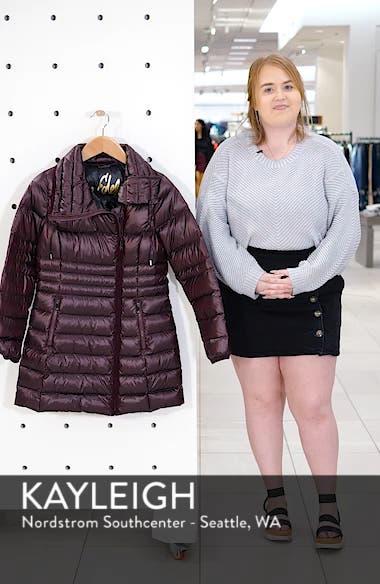Asymmetrical Puffer Jacket, sales video thumbnail