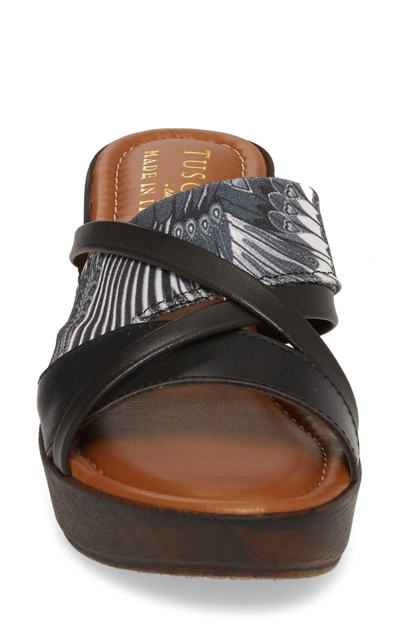 by East Street<sup>®</sup> Lucette Strappy Wedge Mule,                             Alternate thumbnail 4, color,                             008