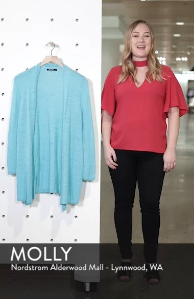 Cliff Dive Cardigan, sales video thumbnail