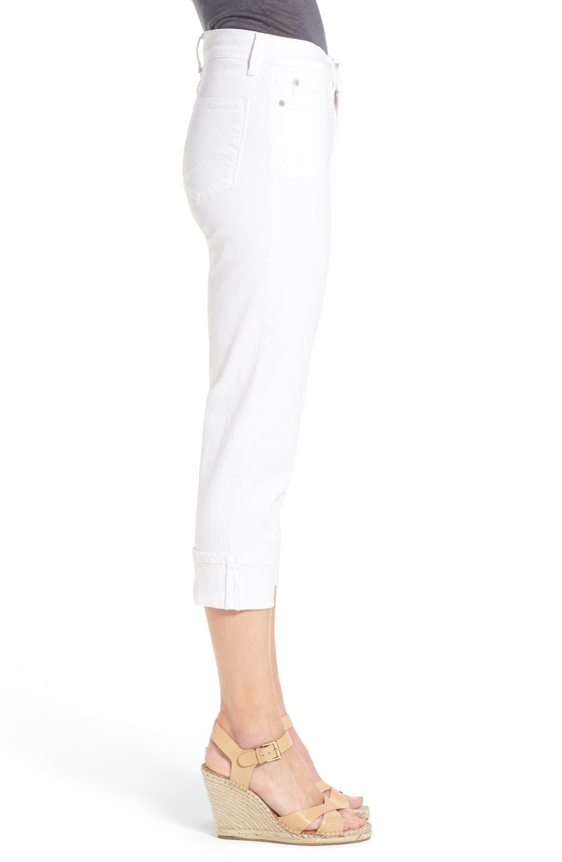 'Dayla' Colored Wide Cuff Capri Jeans,                             Alternate thumbnail 59, color,