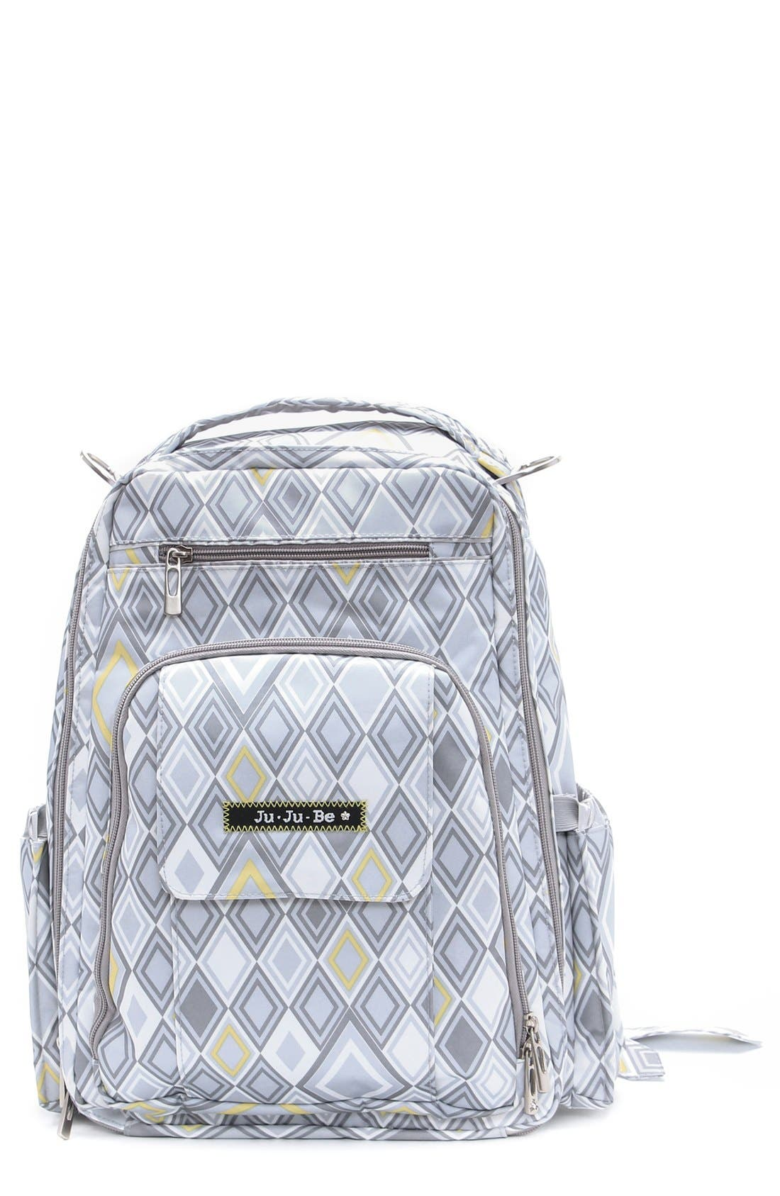 'Be Right Back' Diaper Backpack,                             Main thumbnail 10, color,