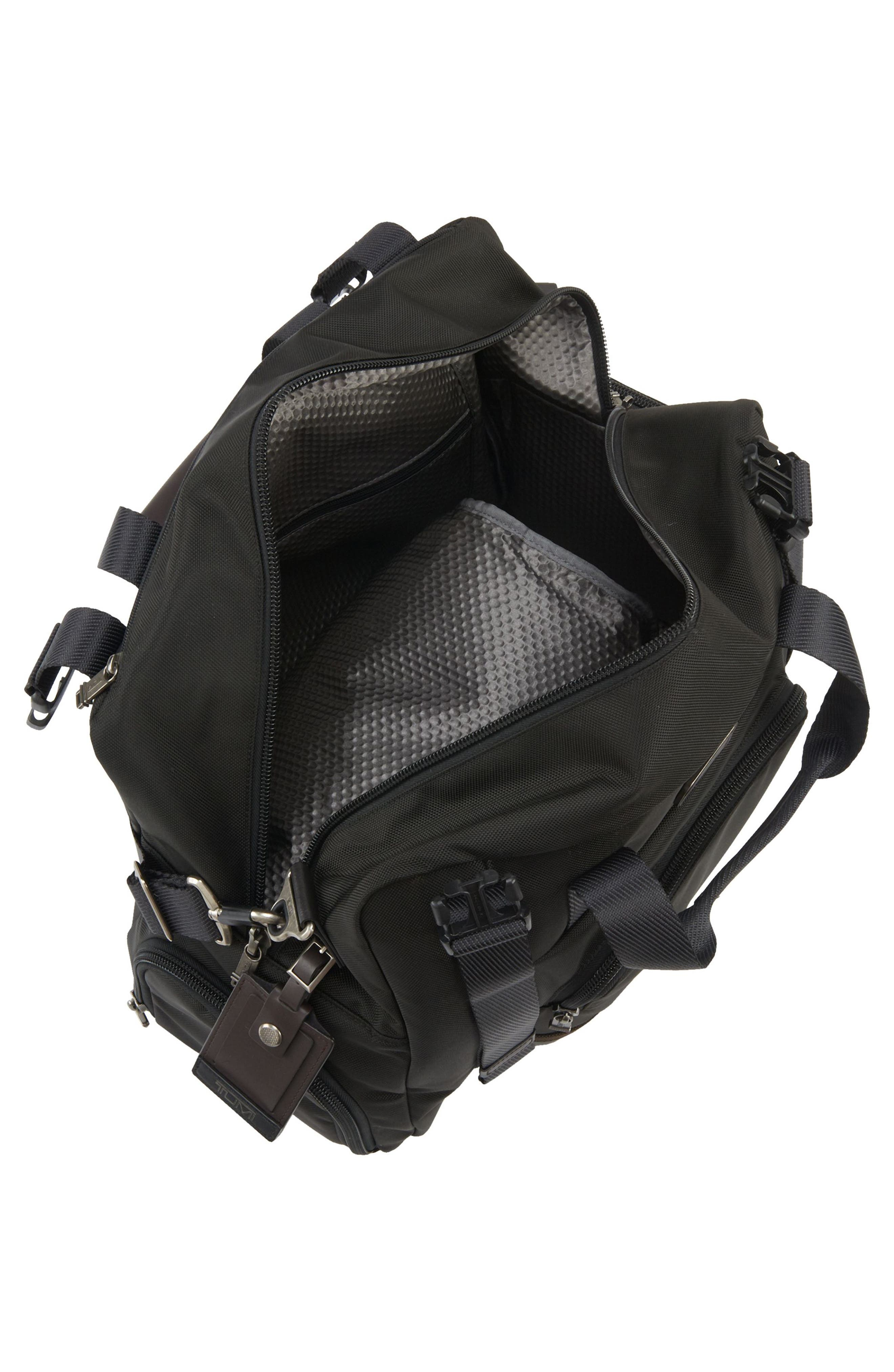 Alpha Bravo Buckner Duffel Bag,                             Alternate thumbnail 3, color,                             001
