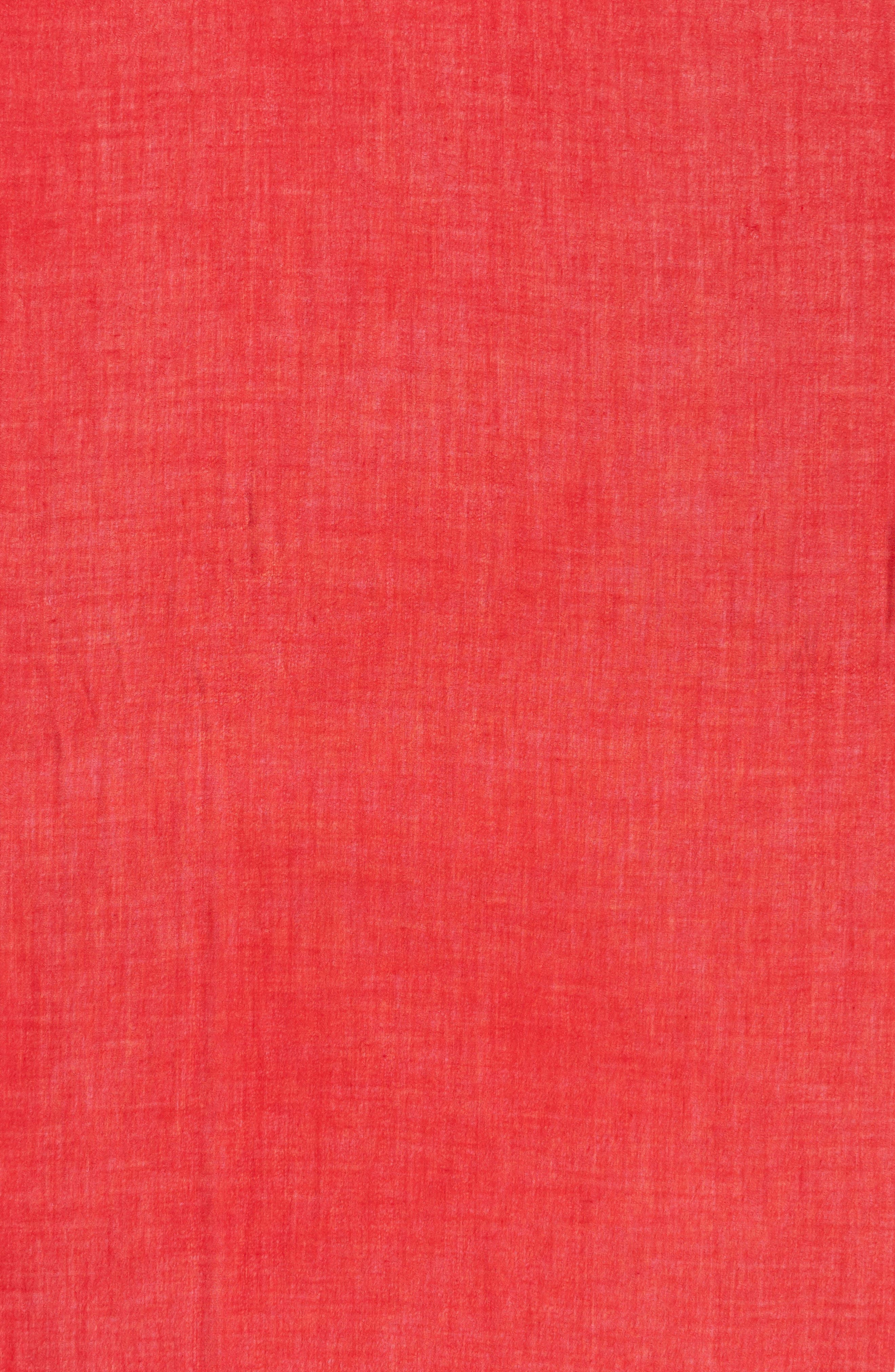 Cashmere & Silk Wrap,                             Alternate thumbnail 4, color,                             RED SAGE