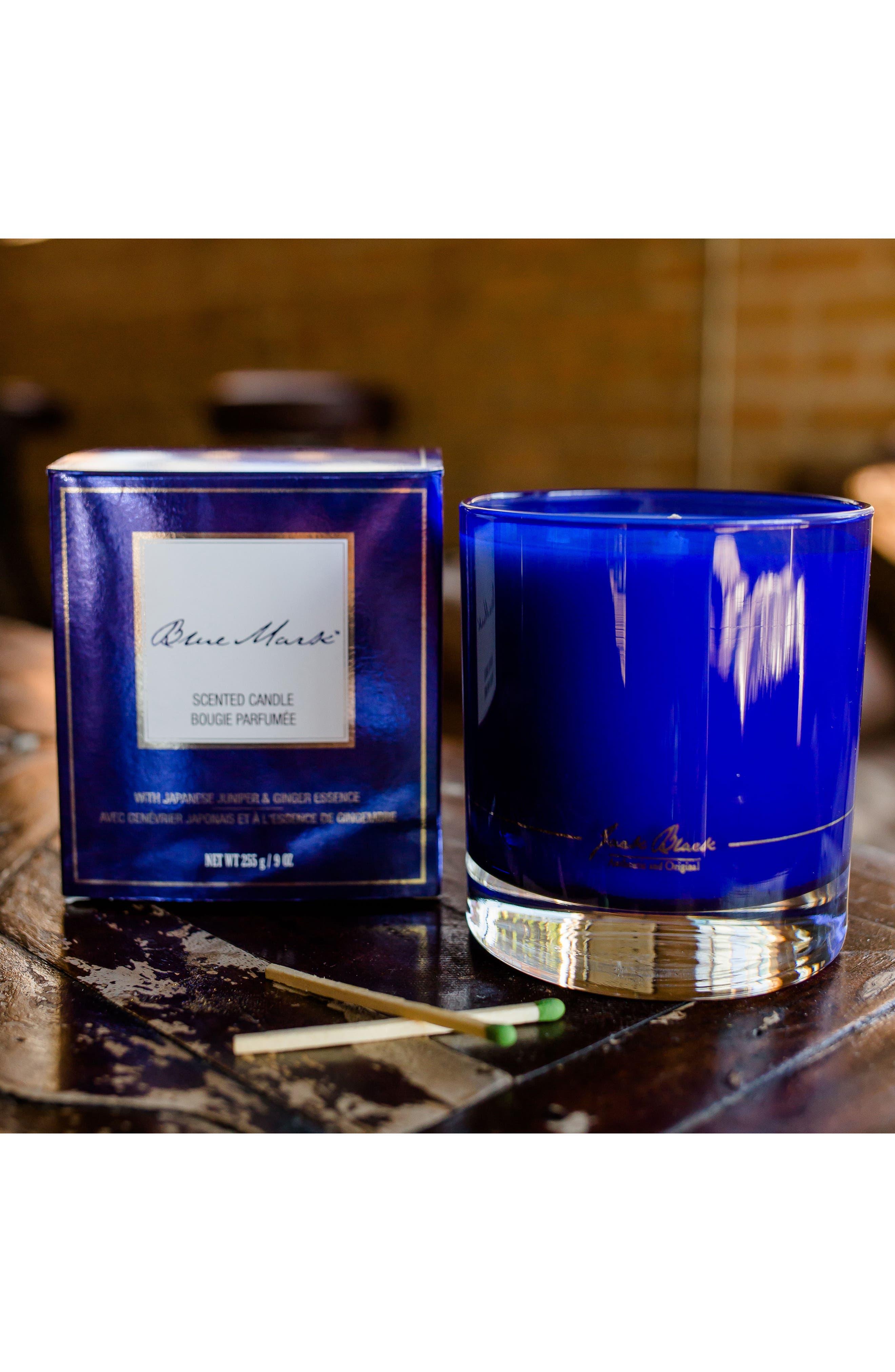 Blue Mark Candle,                             Alternate thumbnail 6, color,                             000