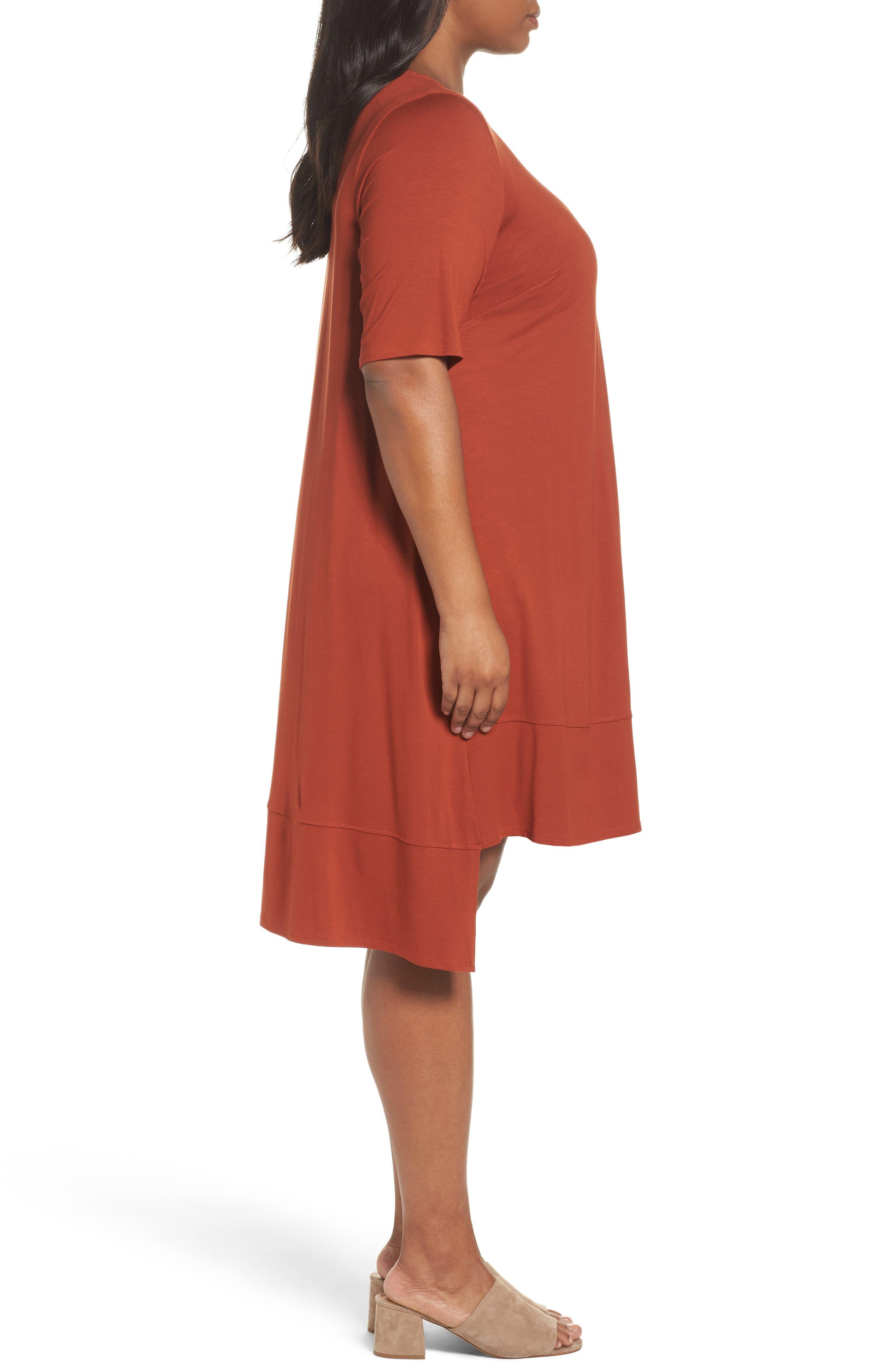 Jersey Shift Dress,                             Alternate thumbnail 12, color,