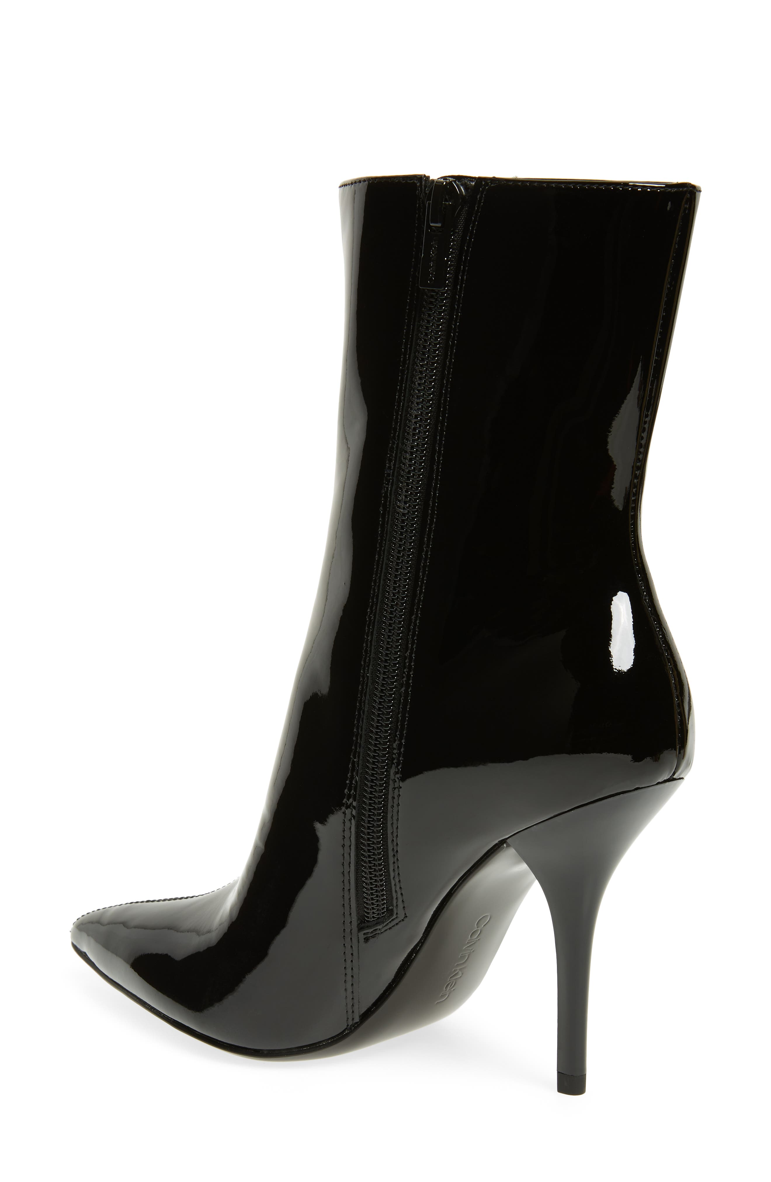 Mada Bootie,                             Alternate thumbnail 2, color,                             BLACK PATENT LEATHER