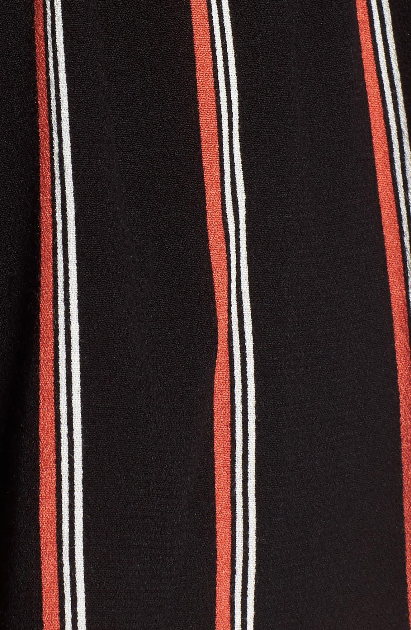 Juniper Stripe Shorts,                             Alternate thumbnail 5, color,                             001