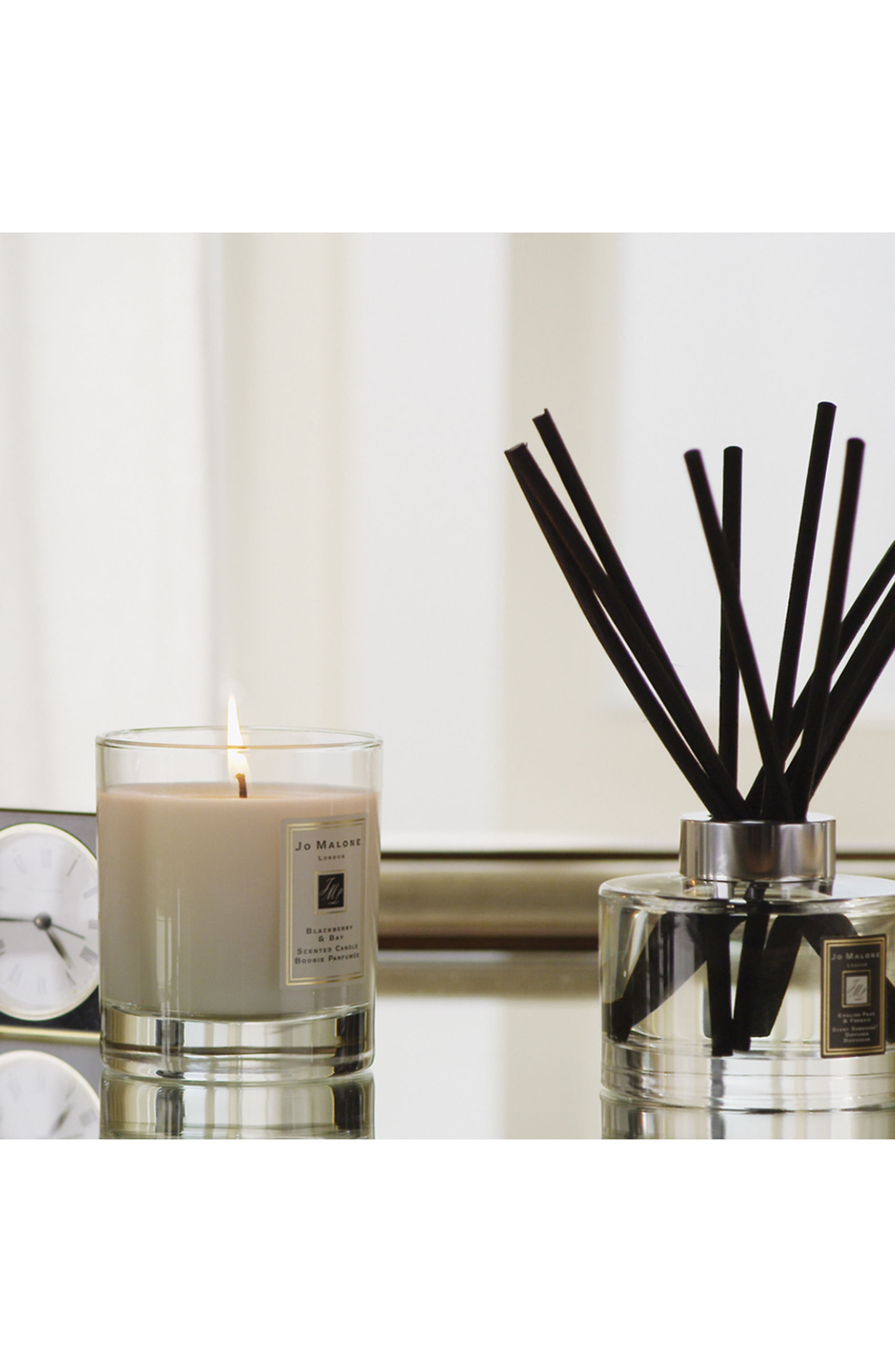 Jo Malone<sup>™</sup> Blackberry & Bay Scented Home Candle,                             Alternate thumbnail 4, color,                             NO COLOR