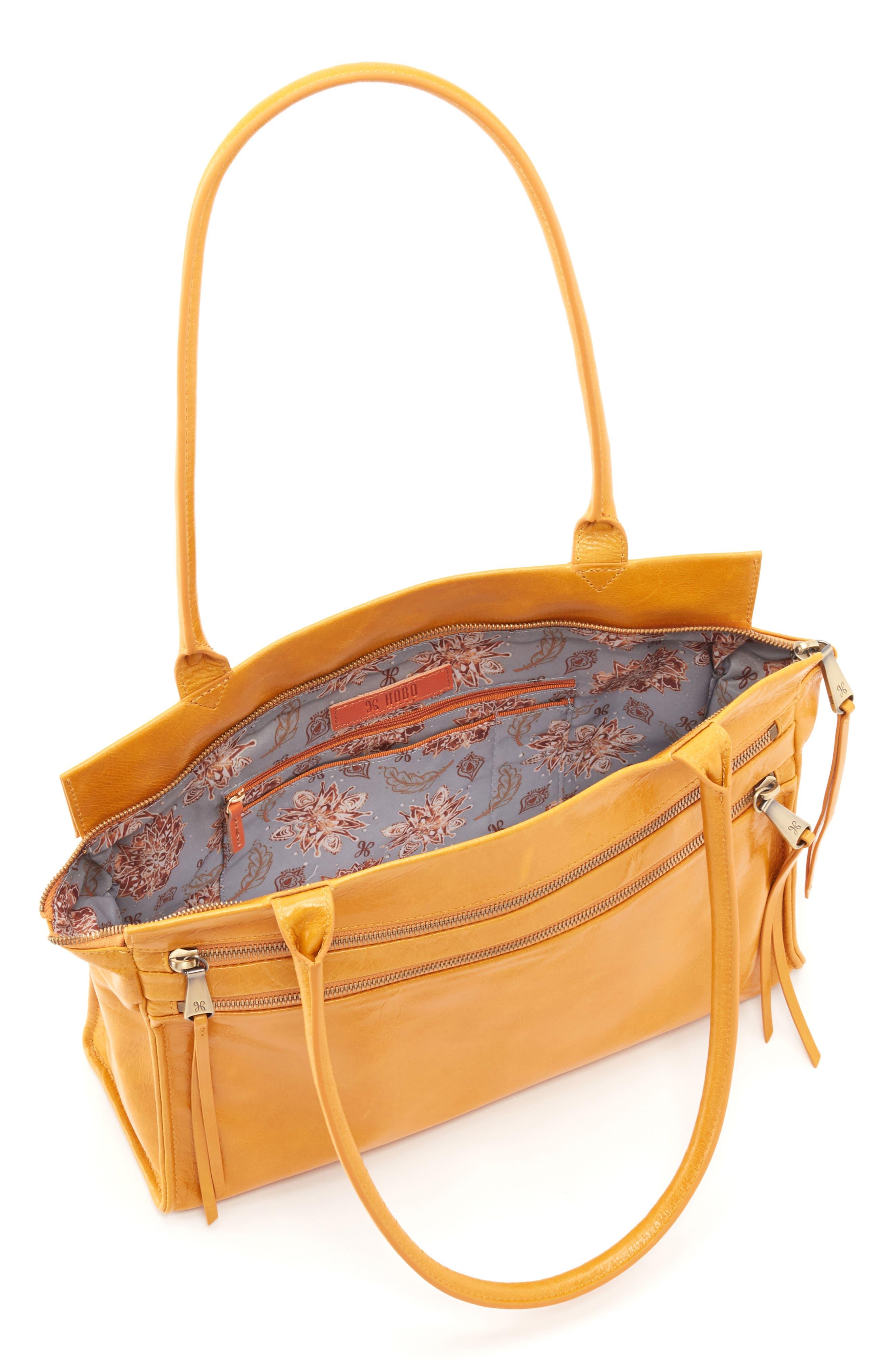 Seeker Top Handle Bag,                             Alternate thumbnail 3, color,                             AMBER