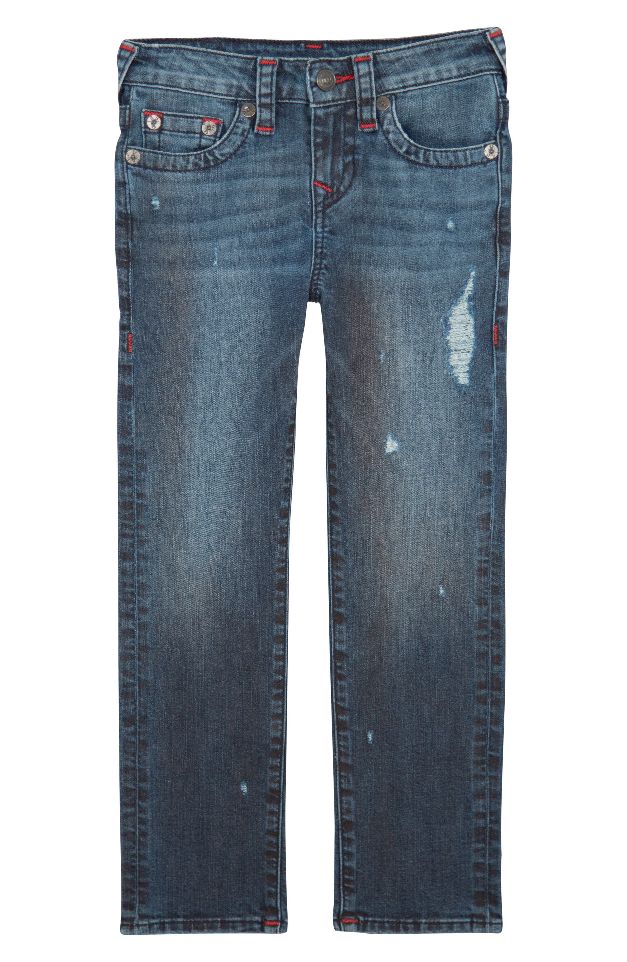 Boys True Religion Brand Jeans Geno Straight Leg Jeans