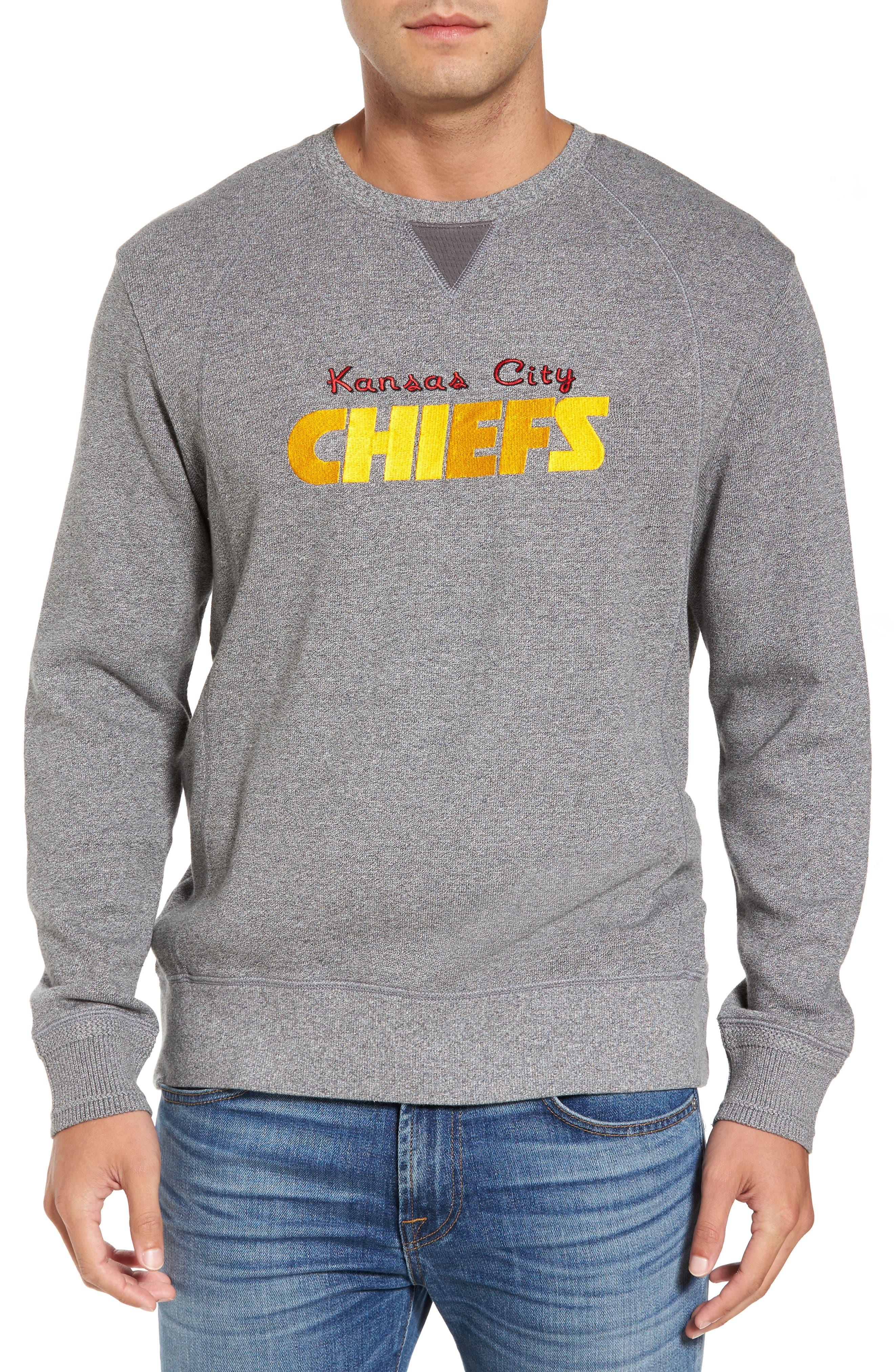 NFL Stitch of Liberty Embroidered Crewneck Sweatshirt,                             Main thumbnail 10, color,