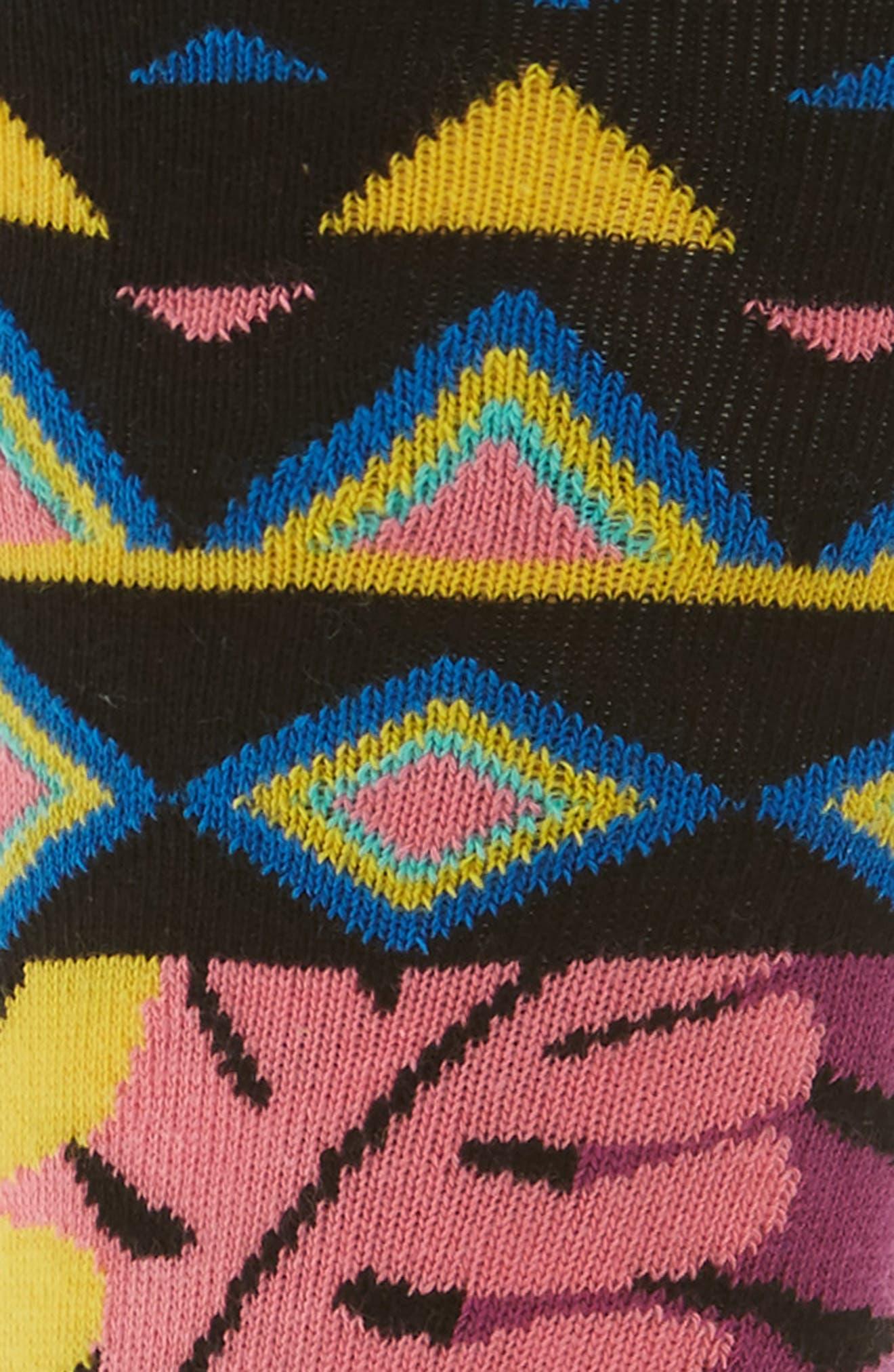 Mix Max Pattern Socks,                             Alternate thumbnail 2, color,                             009