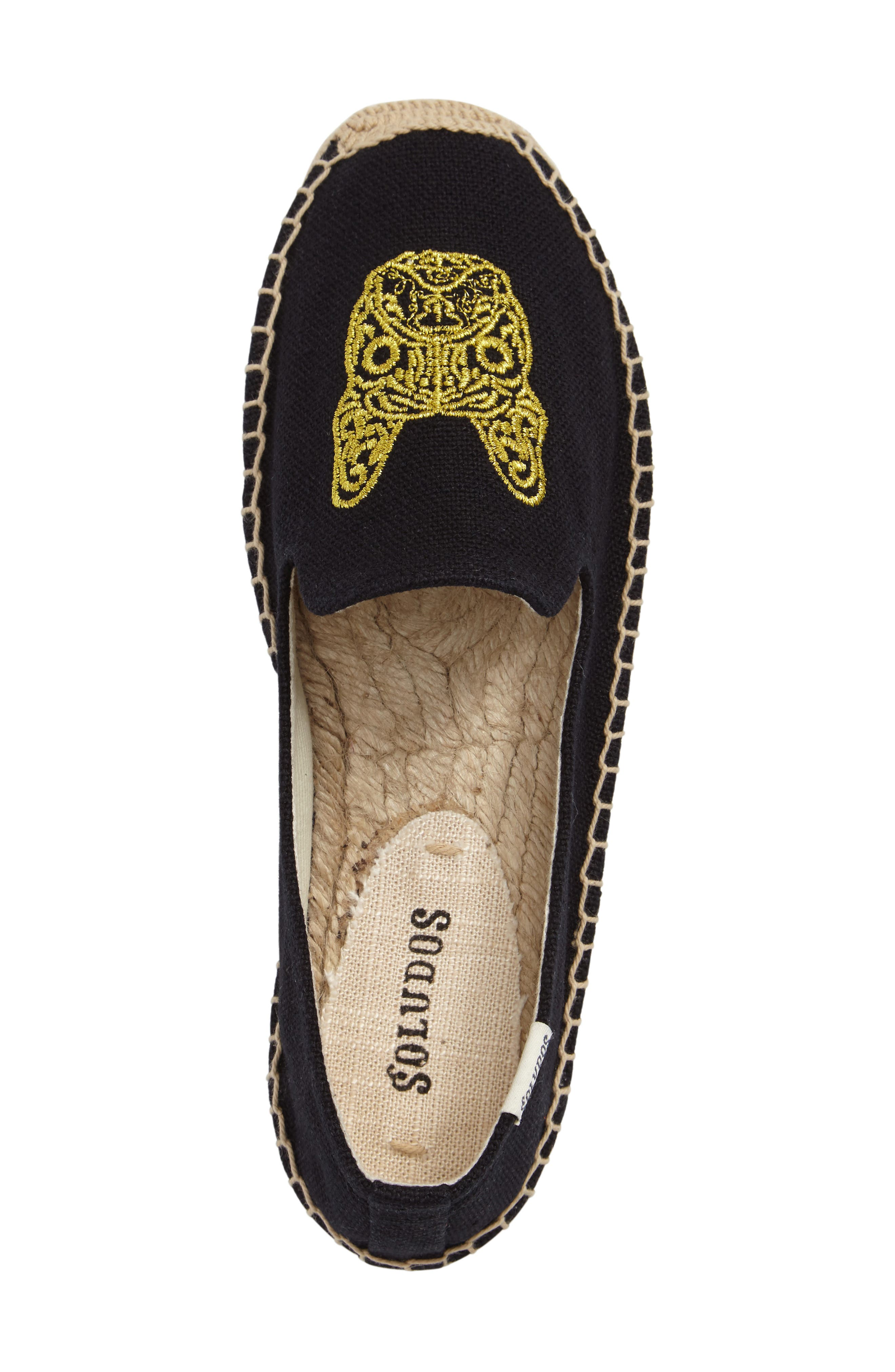 Frenchie Espadrille Loafer,                             Alternate thumbnail 3, color,                             006