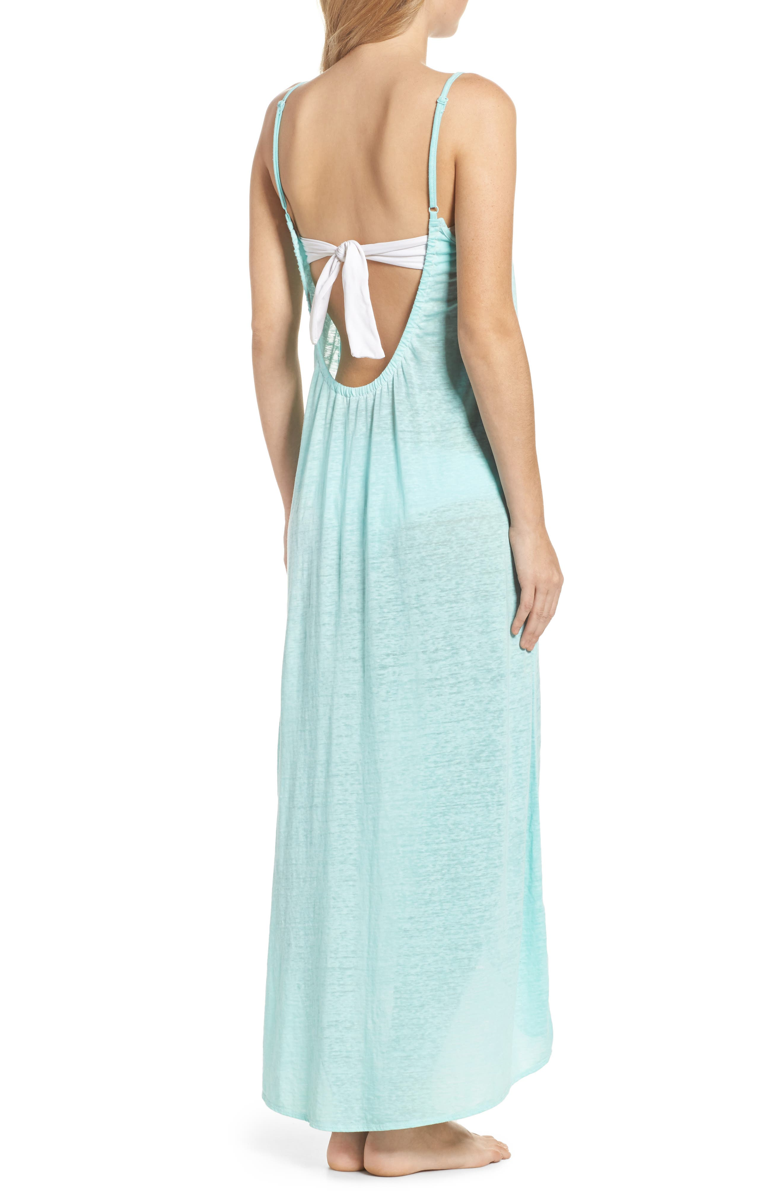 Maxi Cover-Up Dress,                             Alternate thumbnail 9, color,