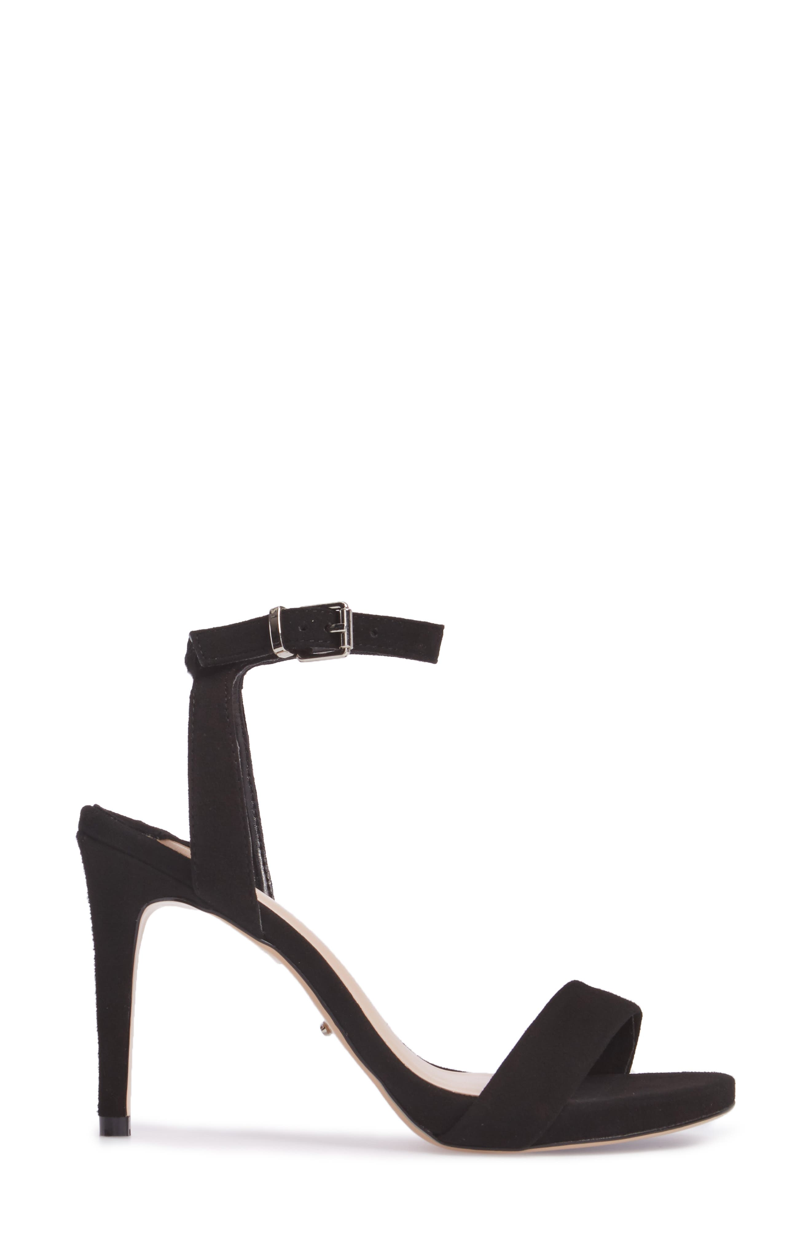 TONY BIANCO,                             Char Ankle Cuff Sandal,                             Alternate thumbnail 3, color,                             001