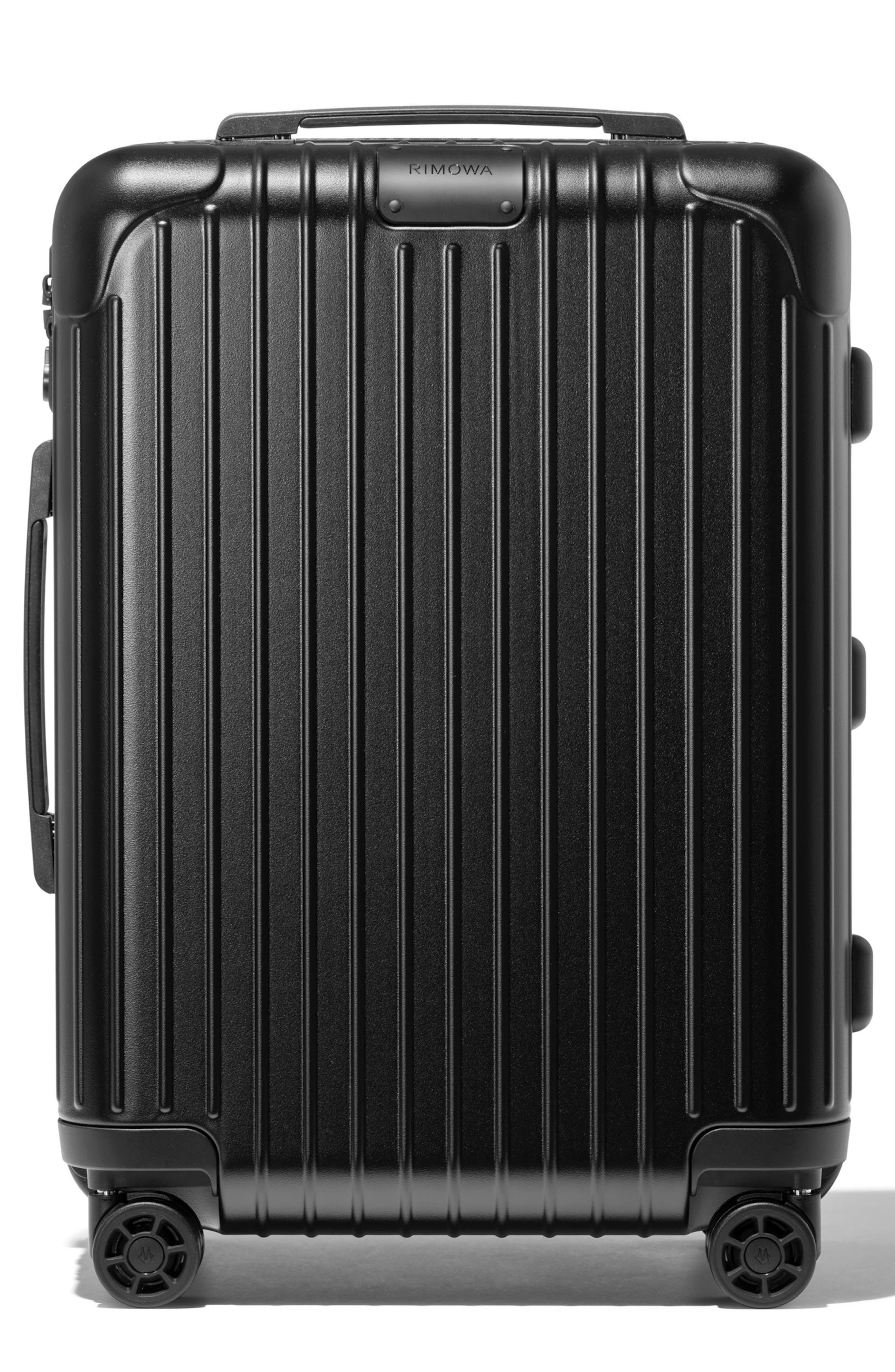 Essential Cabin 22-Inch Packing Case,                         Main,                         color, MATTE BLACK
