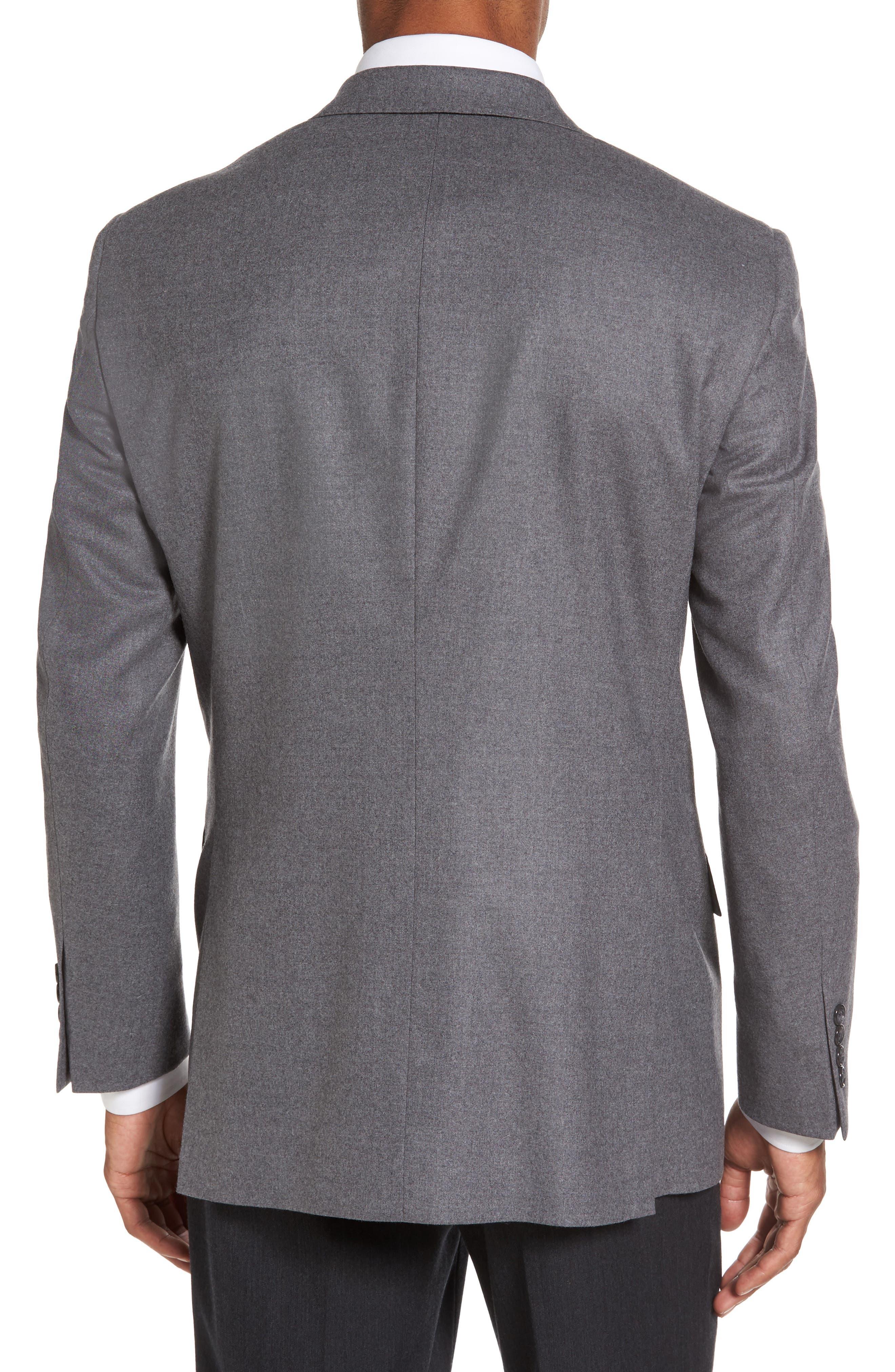 Sutton Trim Fit Stretch Wool Blazer,                             Alternate thumbnail 2, color,                             050
