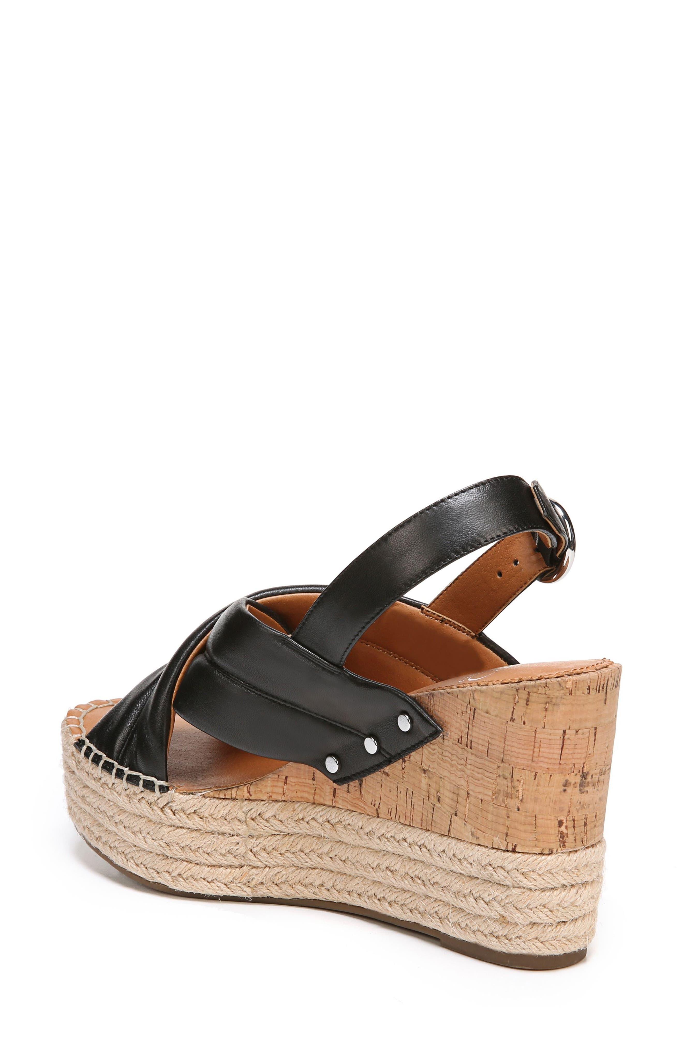 Niva Espadrille Wedge Sandal,                             Alternate thumbnail 6, color,