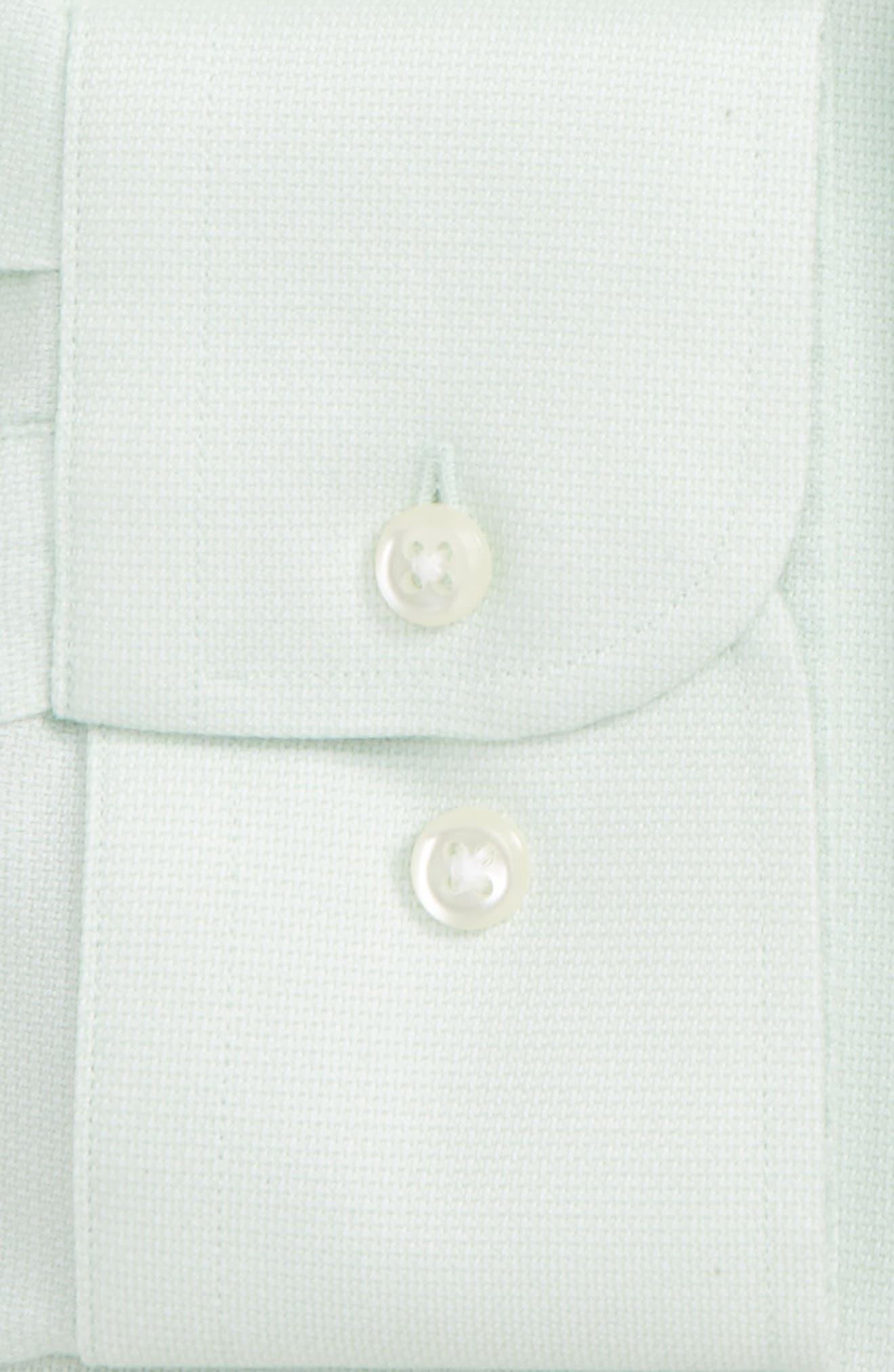 Smartcare<sup>™</sup> Trim Fit Oxford Dress Shirt,                             Alternate thumbnail 6, color,