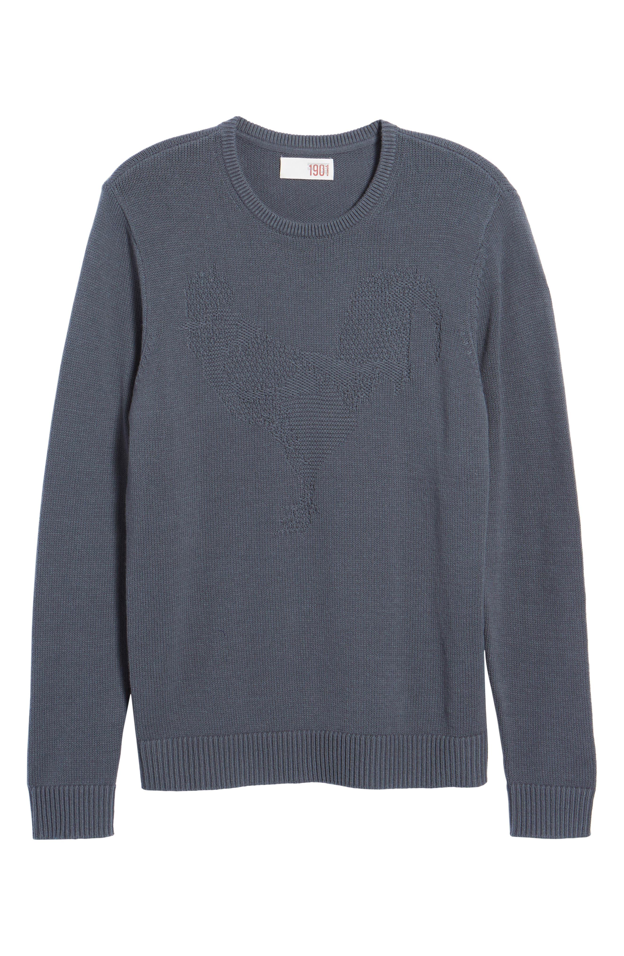 Tonal Motif Sweater,                             Alternate thumbnail 11, color,