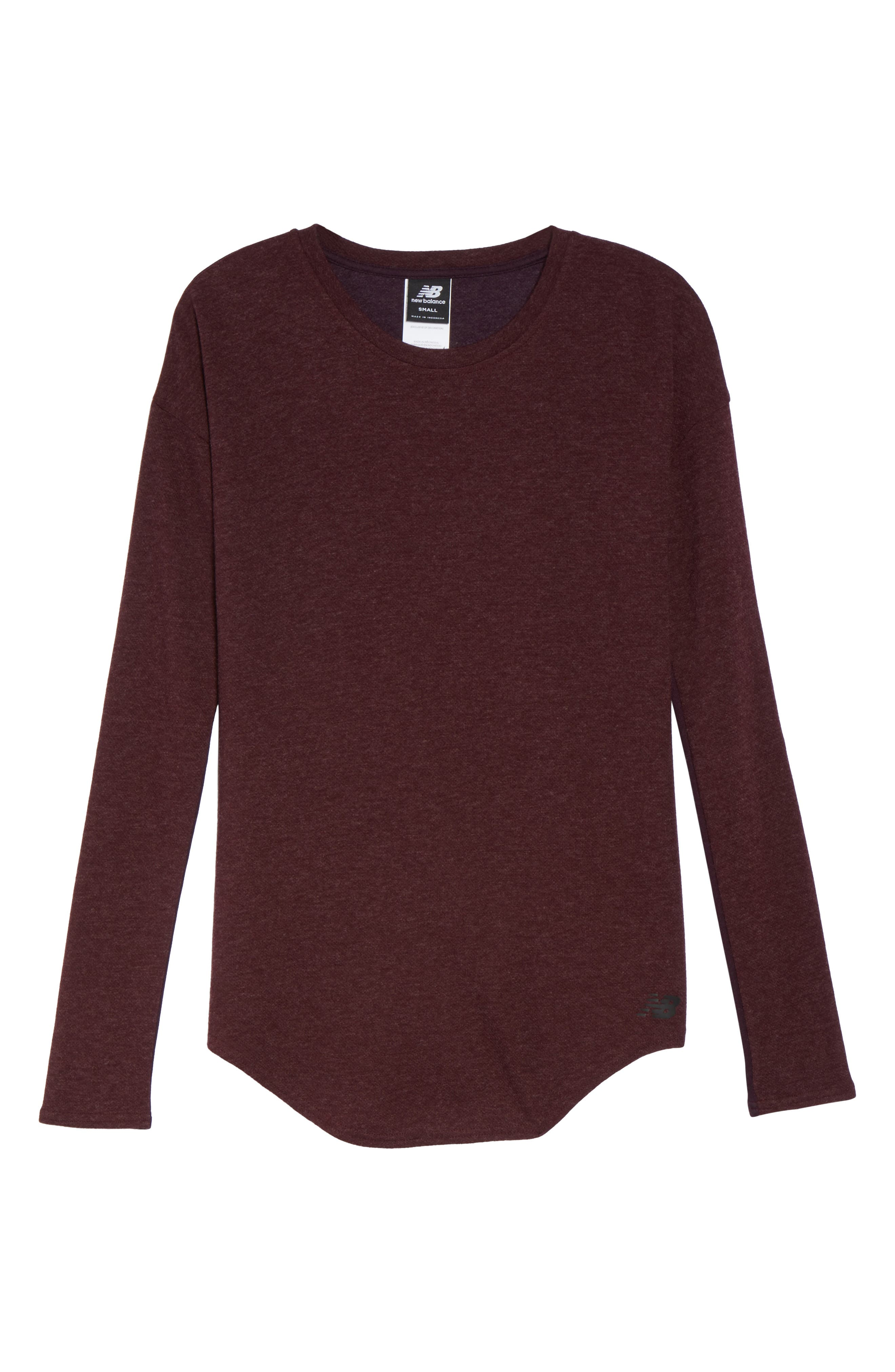247 Luxe Long Sleeve Tee,                             Alternate thumbnail 7, color,                             930