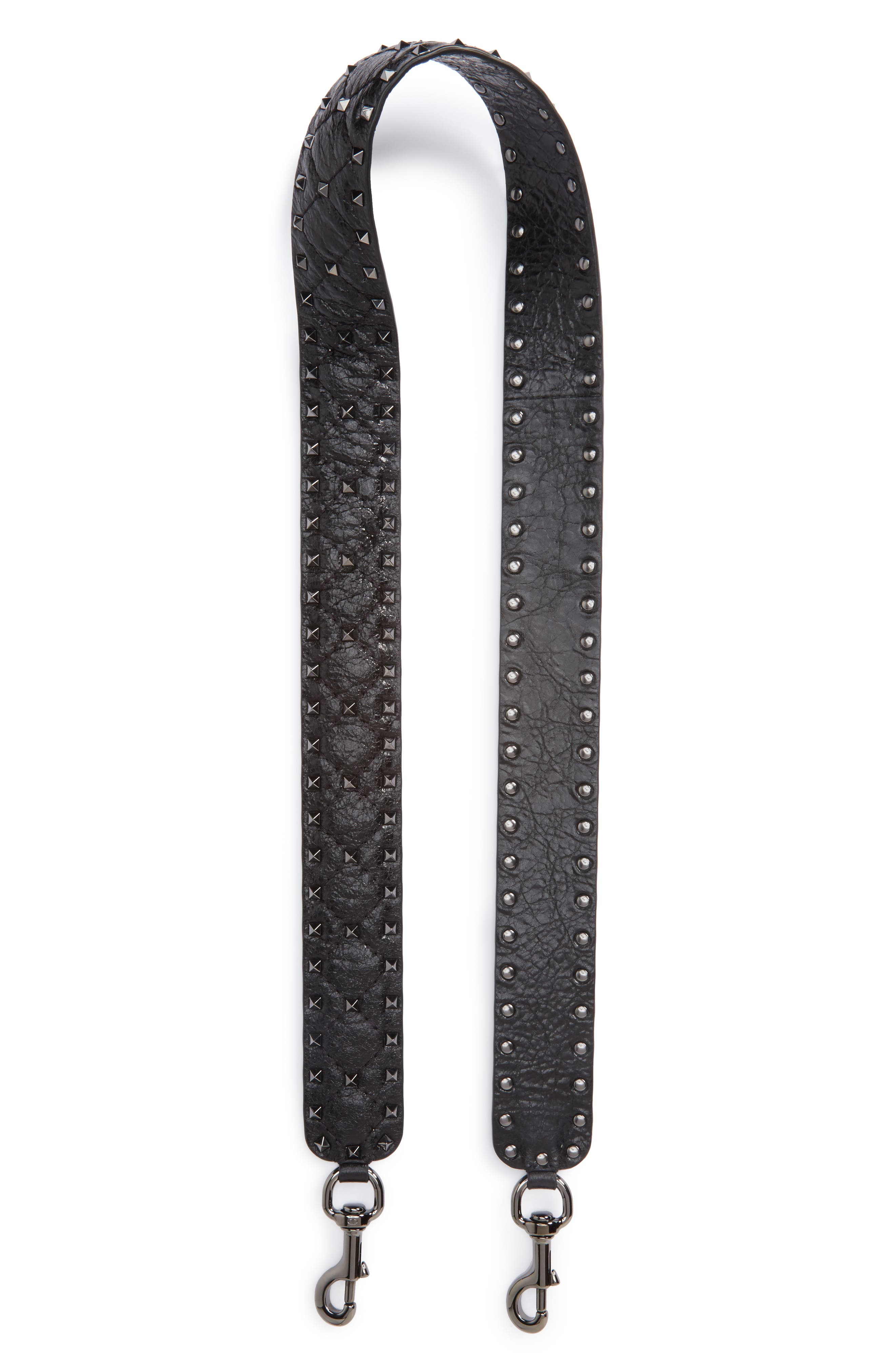 Rockstud Guitar Bag Strap,                             Main thumbnail 1, color,                             001