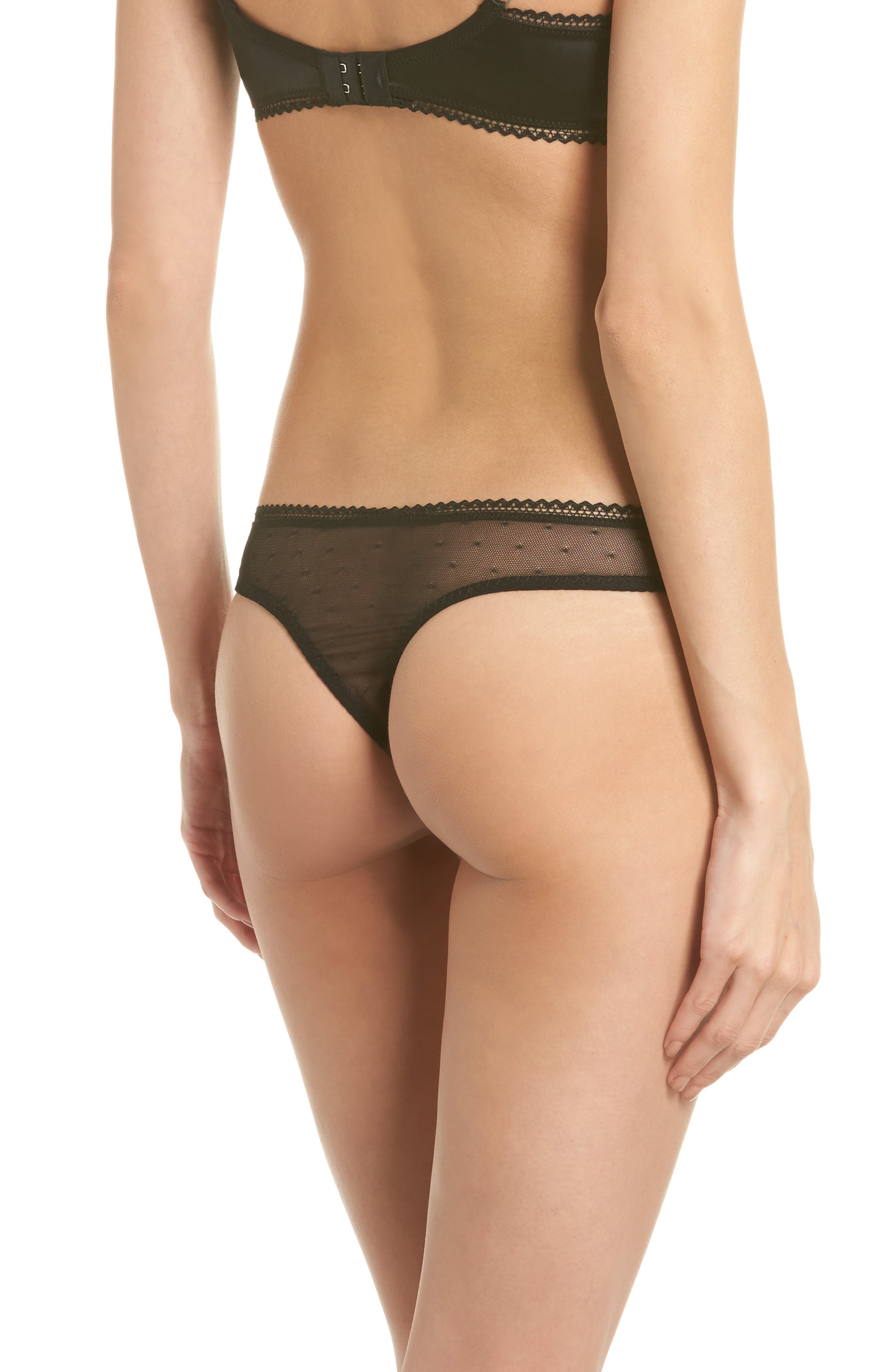 Thistle & Spire All Wrapped Up Thong,                             Alternate thumbnail 2, color,                             001