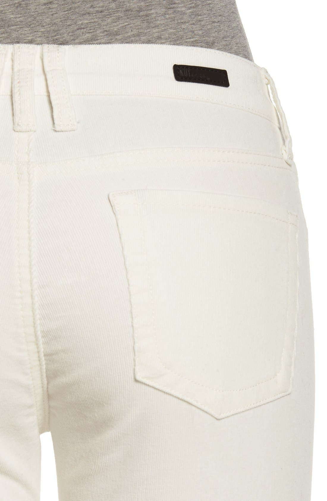 'Diana' Stretch Corduroy Skinny Pants,                             Alternate thumbnail 154, color,