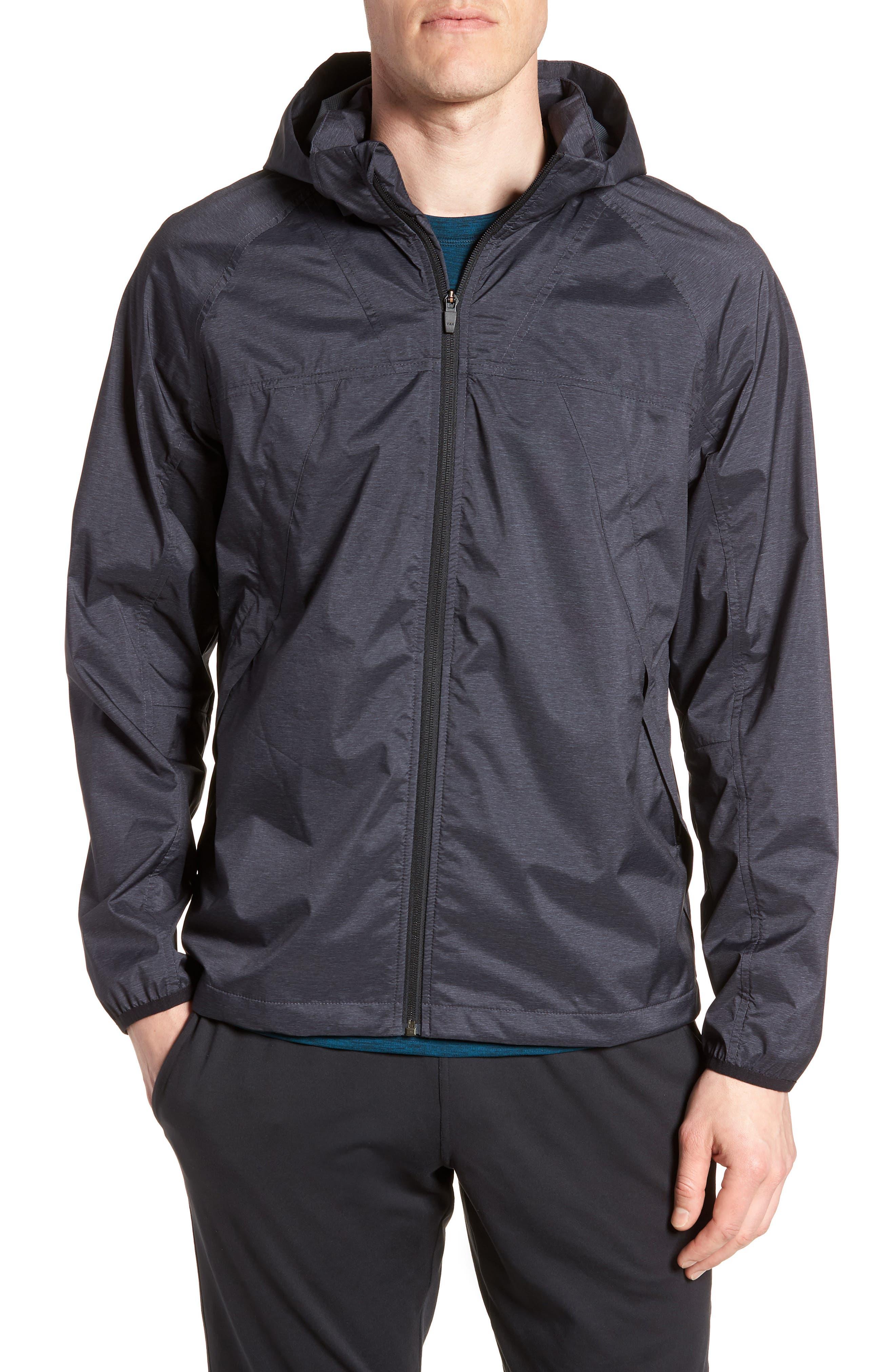 ZELLA Xieite Hooded Jacket, Main, color, 001