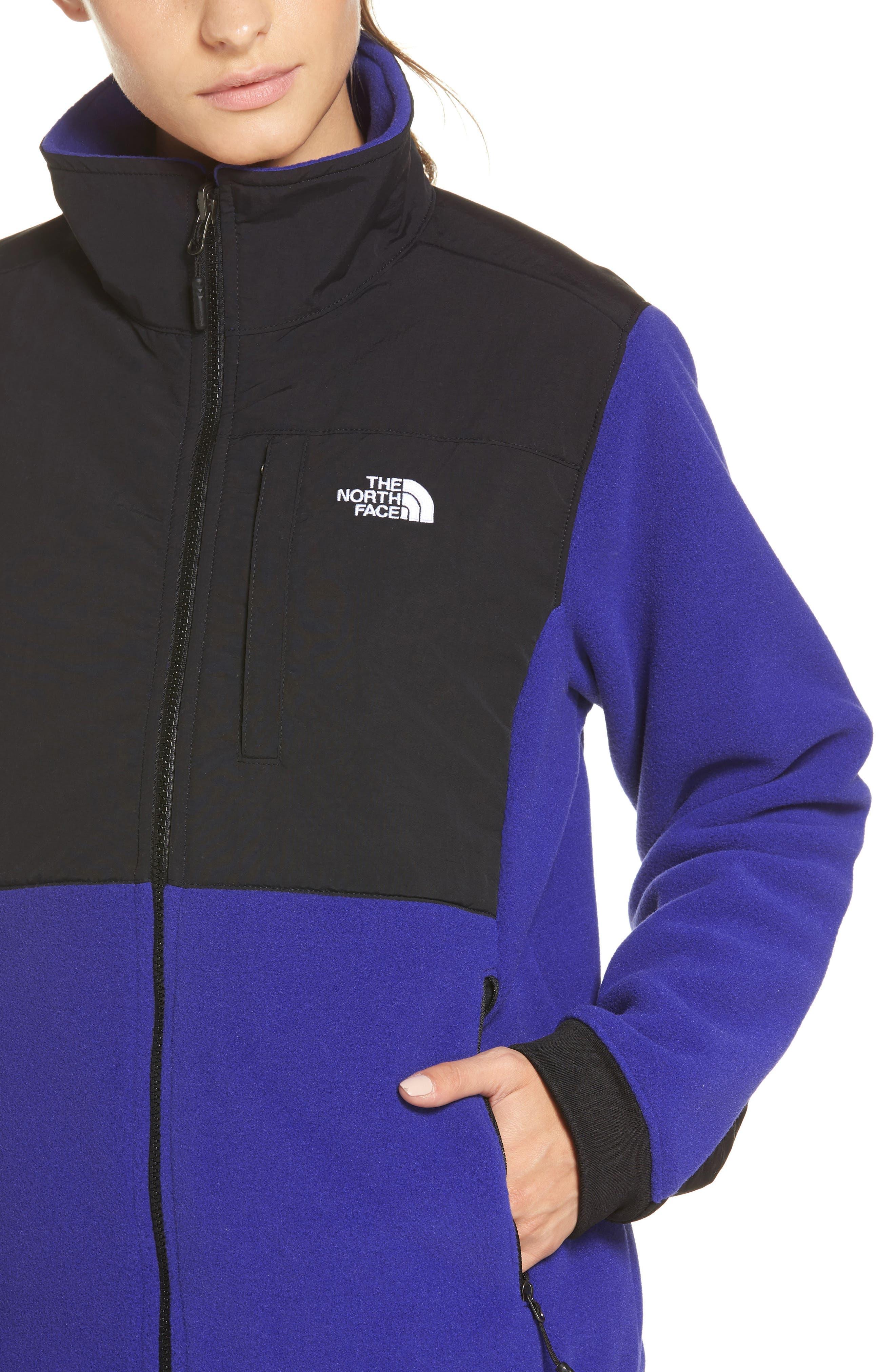 Denali 2 Jacket,                             Alternate thumbnail 4, color,                             LAPIS BLUE/ TNF BLACK